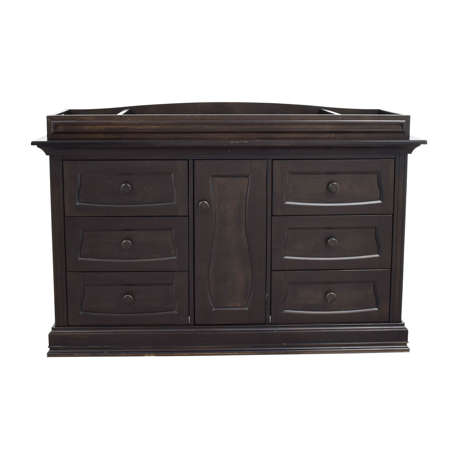Eco Chic Baby Dorchester Six-Drawer Dresser sale
