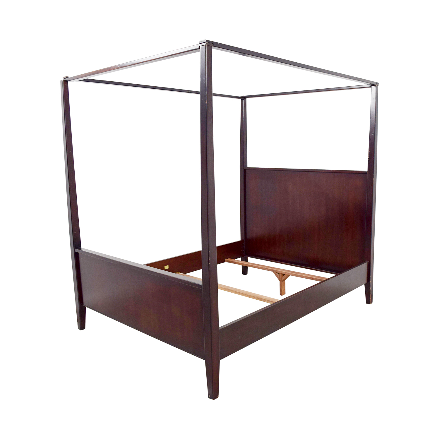 88% OFF - Crate & Barrel Crate & Barrel Queen Four-Poster ...