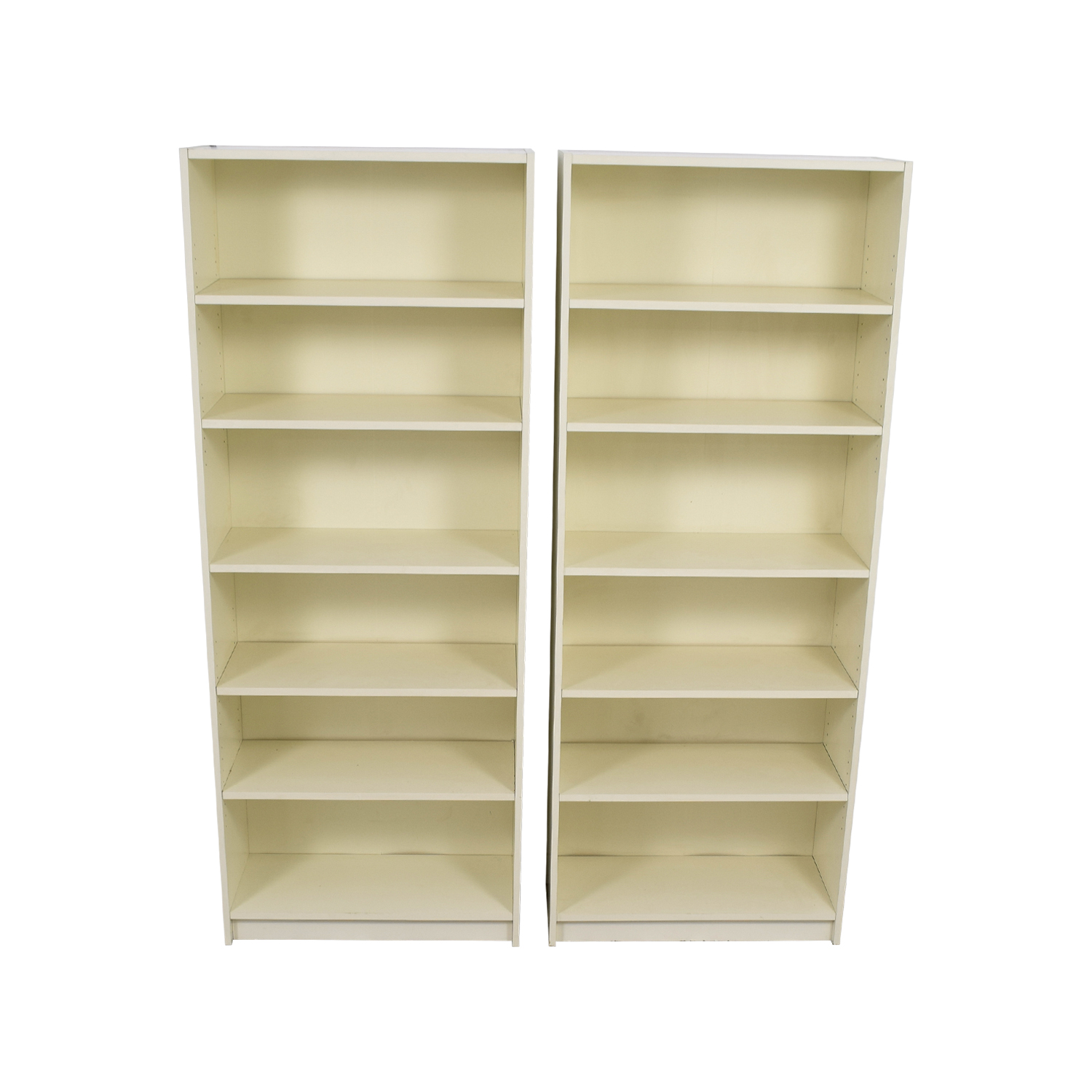buy White High Bookcases