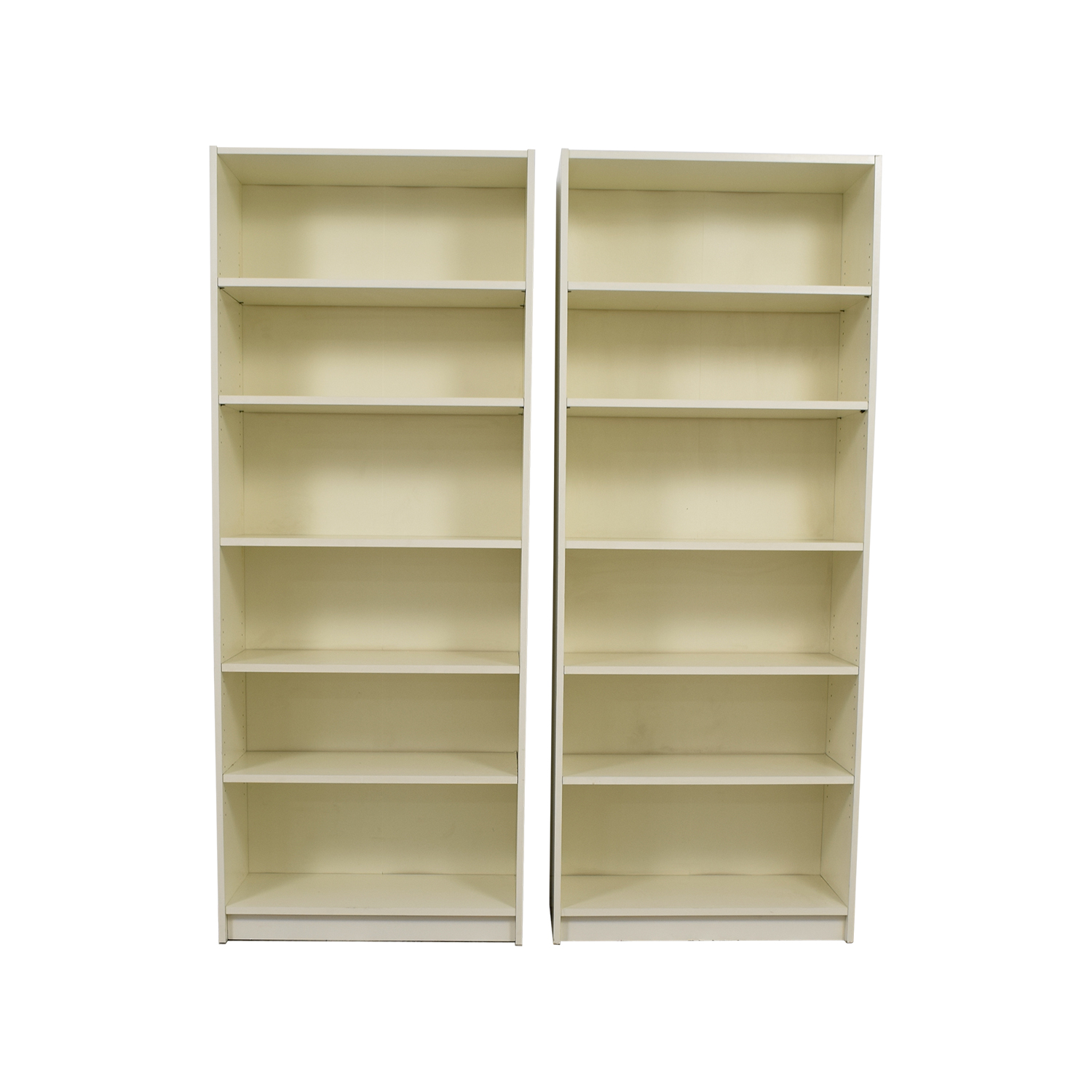 White High Bookcases coupon