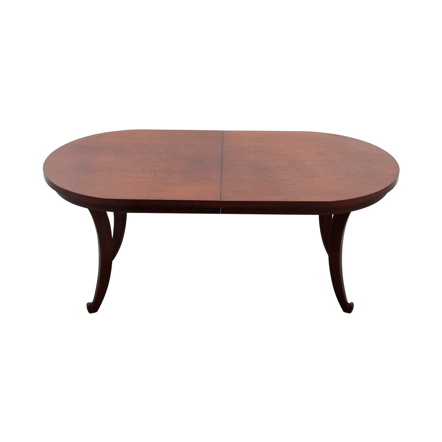 Oblong Wood Dining Table for sale