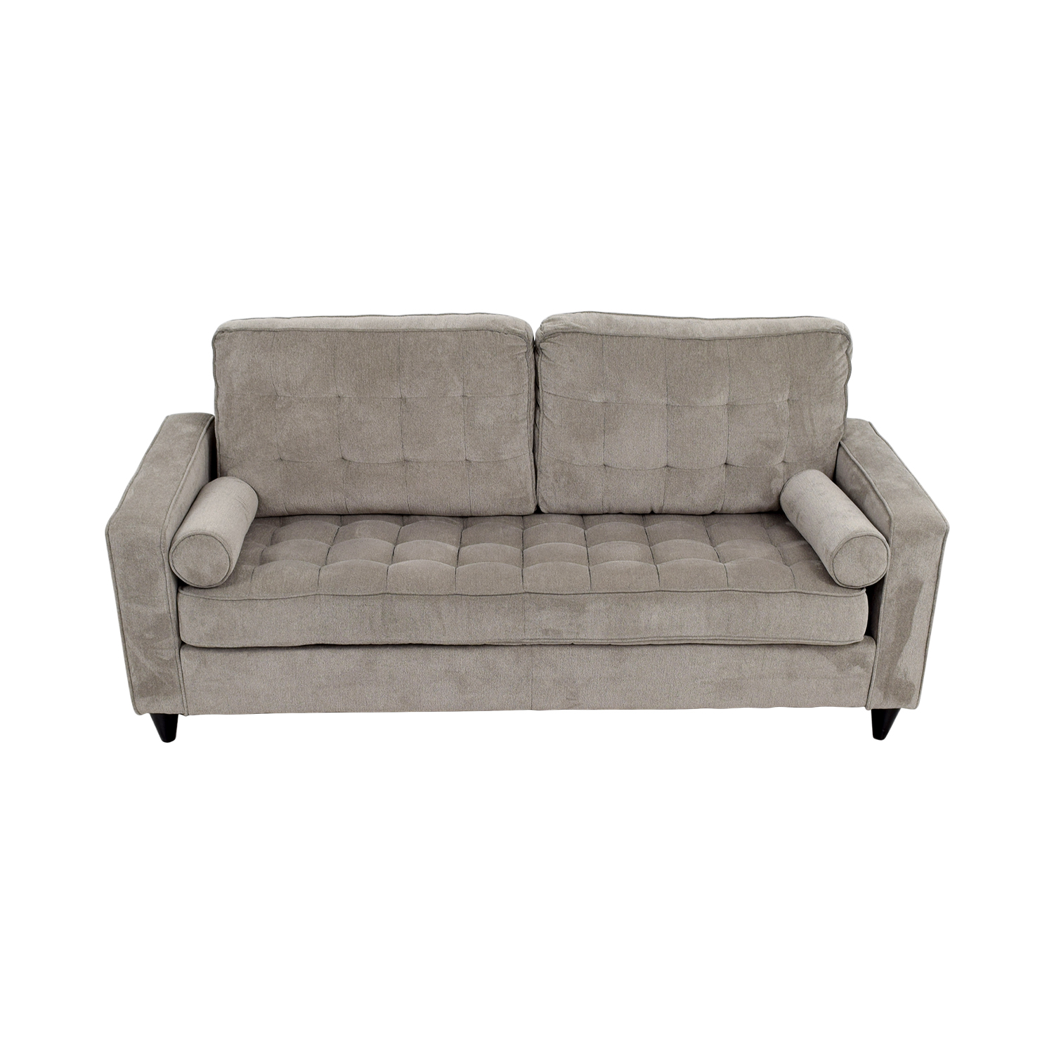Corrigan Studio Corrigan Studio Christiana Gray Tufted Sofa Sofas