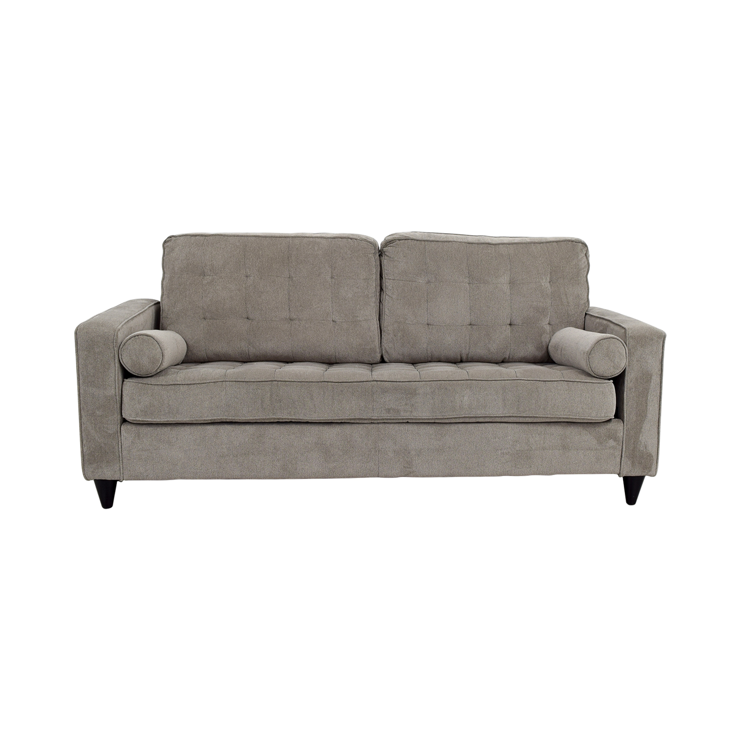 Corrigan Studio Corrigan Studio Christiana Gray Tufted Sofa for sale
