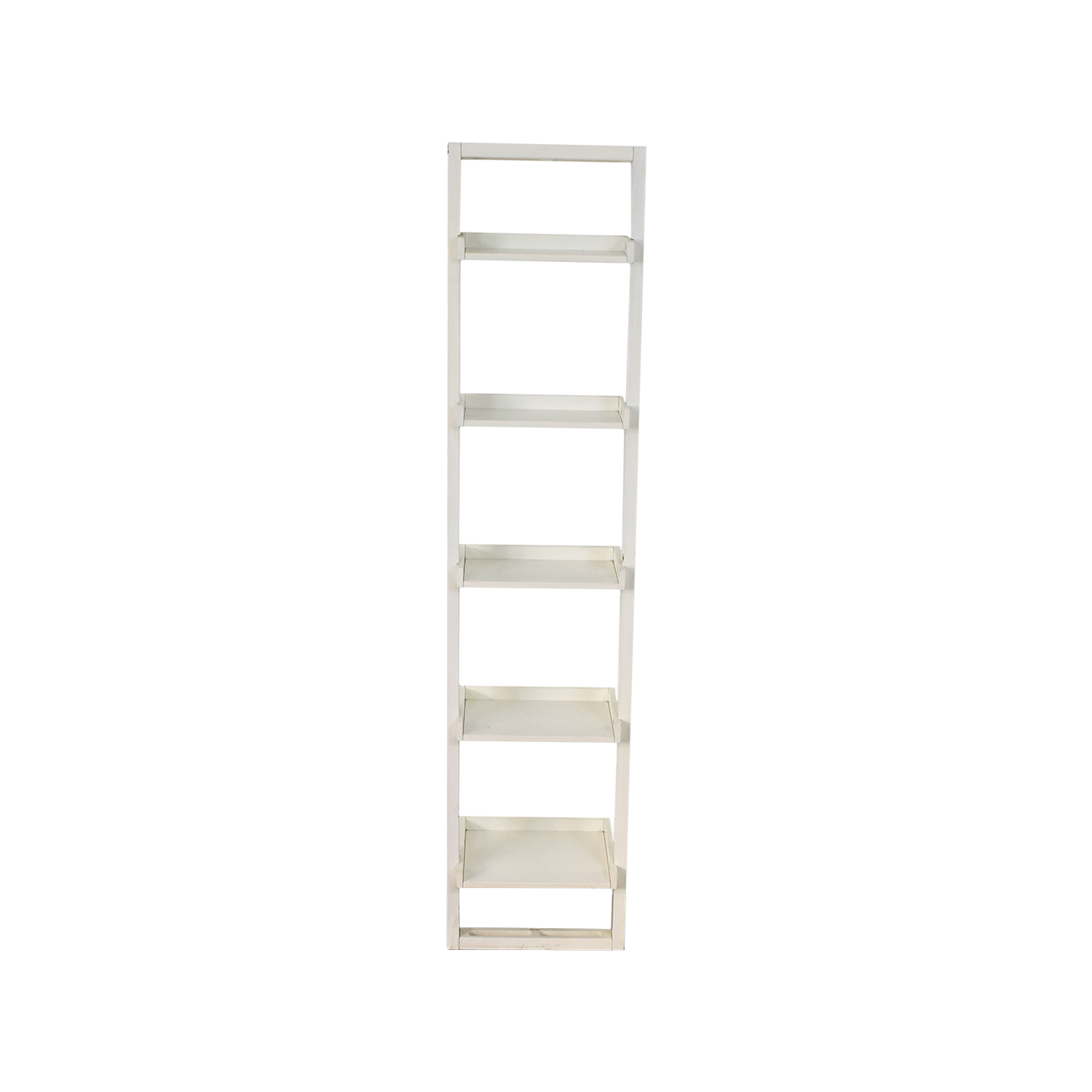 Crate & Barrel Sloane Leaning Bookcase sale