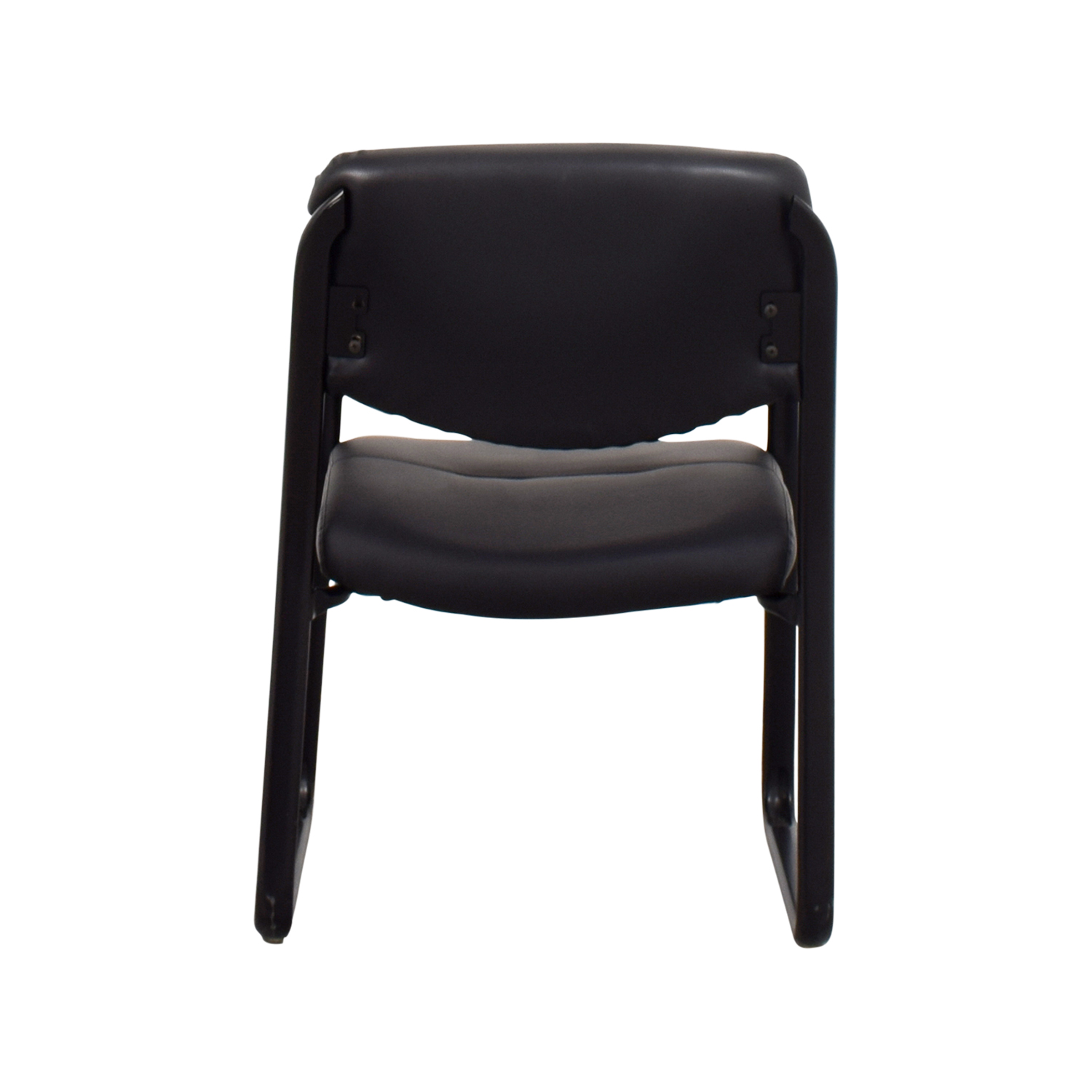 Black Leather Chair on sale