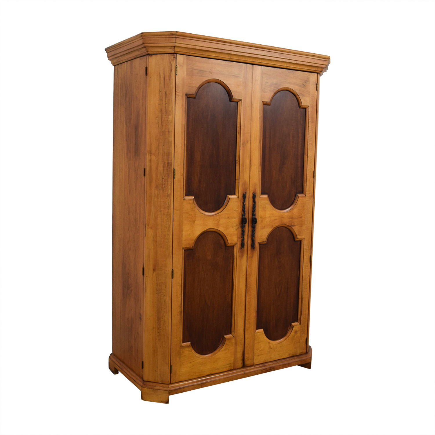 ... Platypus Platypus Two Toned Armoire Honey Pine ...