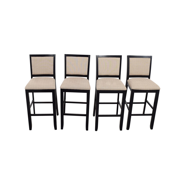 Beige Upholstered Bar Stools on sale
