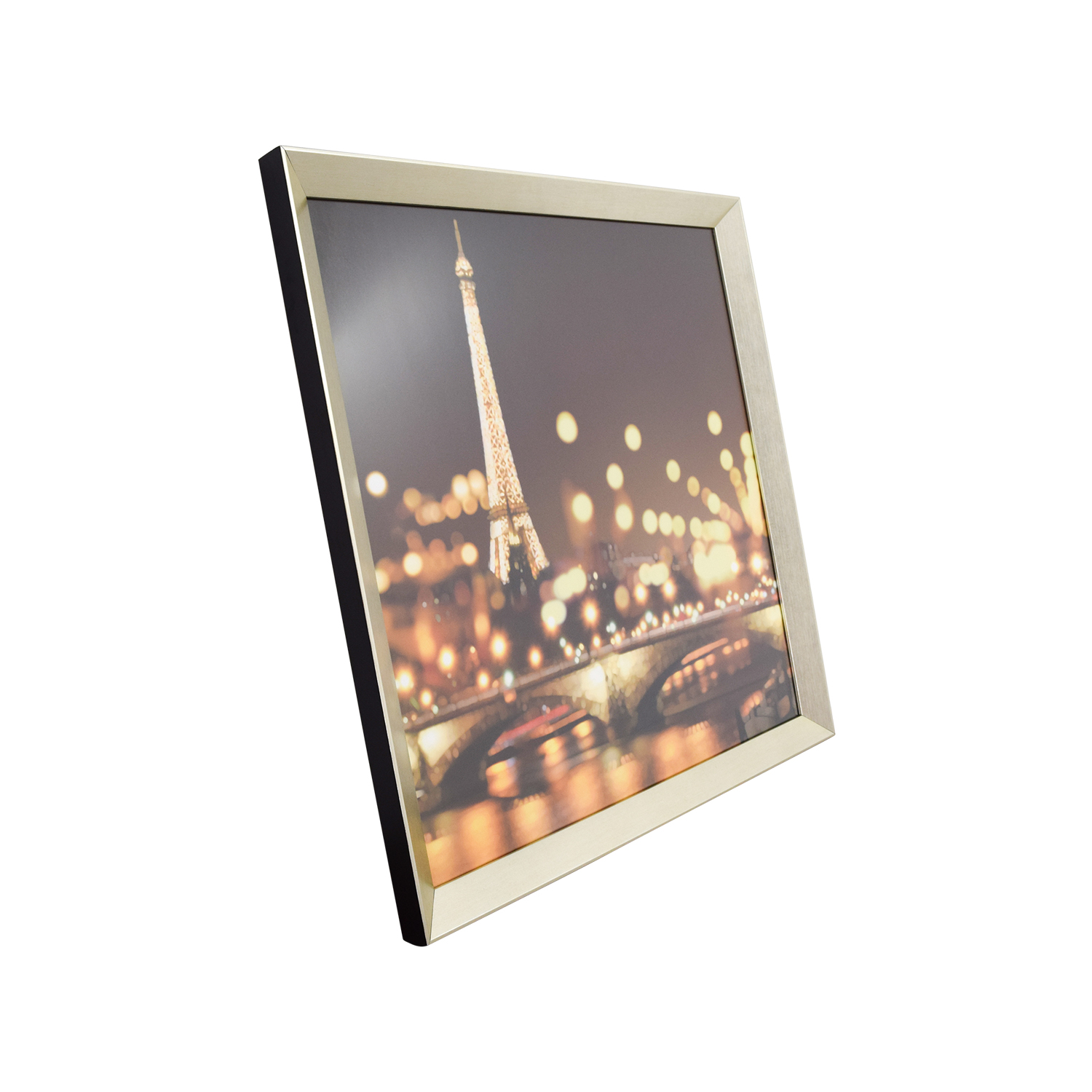 buy Z Gallerie Paris Lights on the Rive Gauche Framed Art Z Gallerie Wall Art