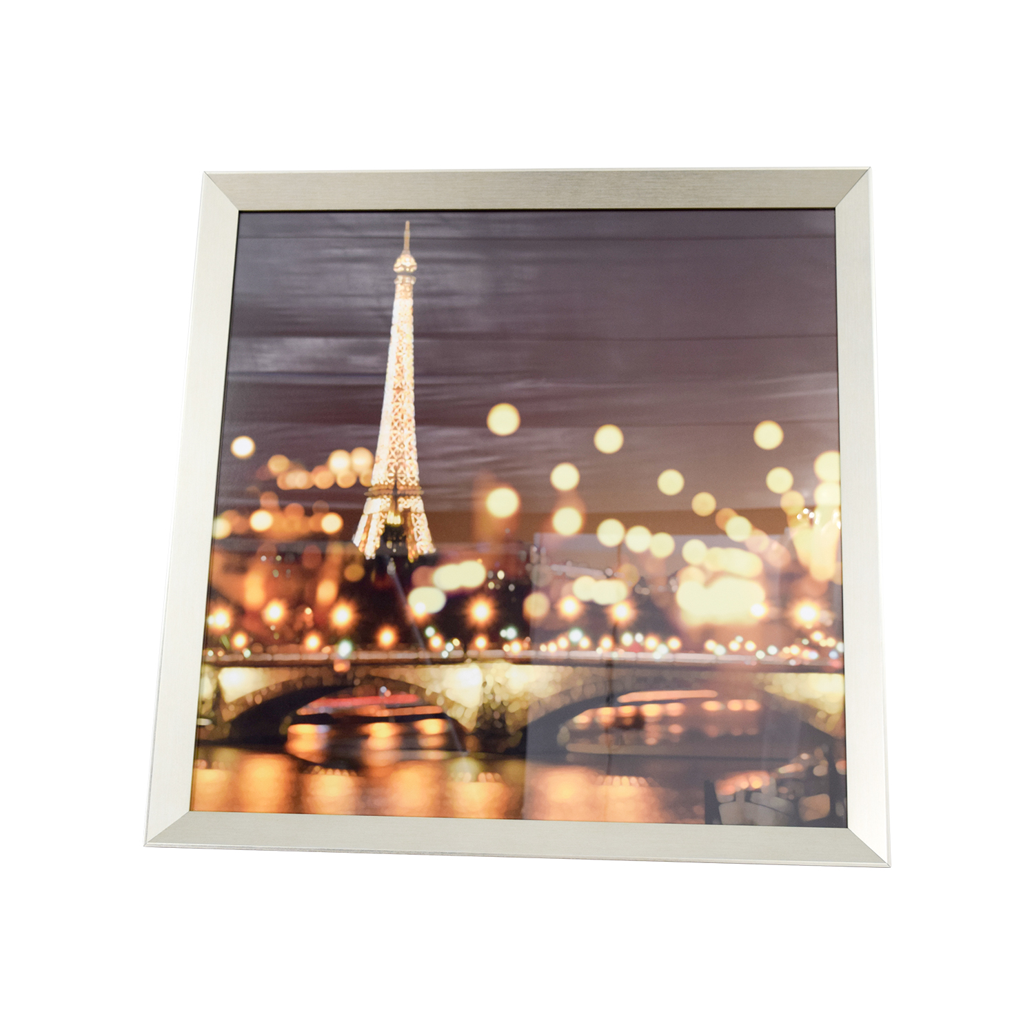 Z Gallerie Z Gallerie Paris Lights on the Rive Gauche Framed Art Wall Art