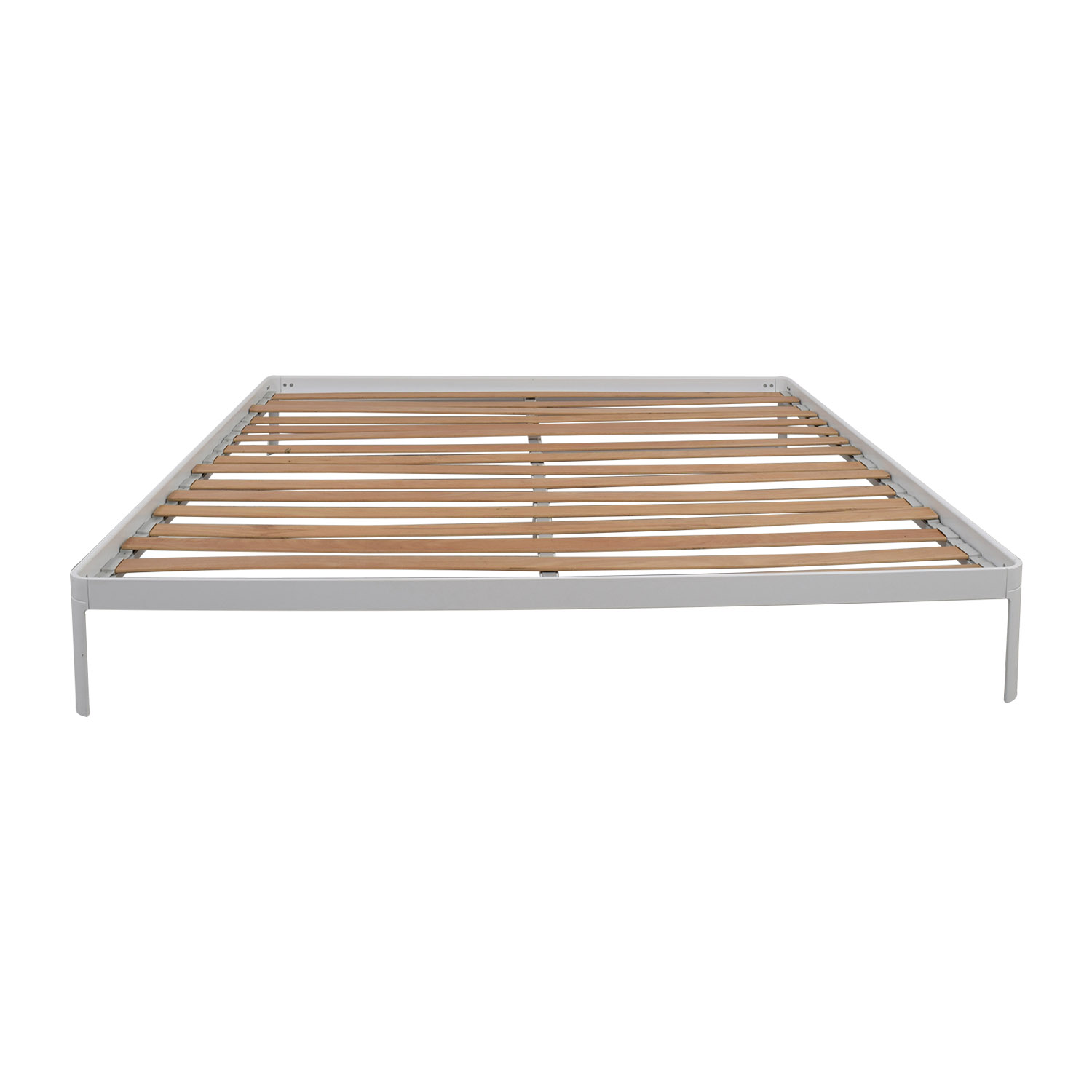 62 off ikea ikea full size pewter bed frame beds - Design within reach bed frame ...