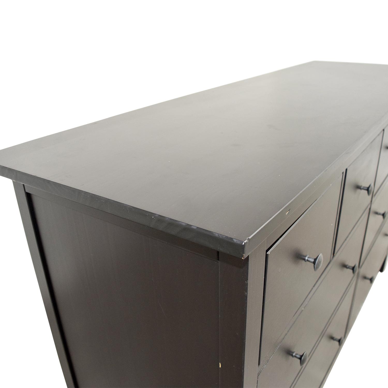IKEA Hemnes Black Dresser sale