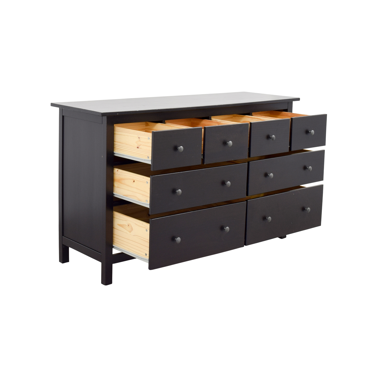 28 off ikea ikea hemnes black dresser storage. Black Bedroom Furniture Sets. Home Design Ideas