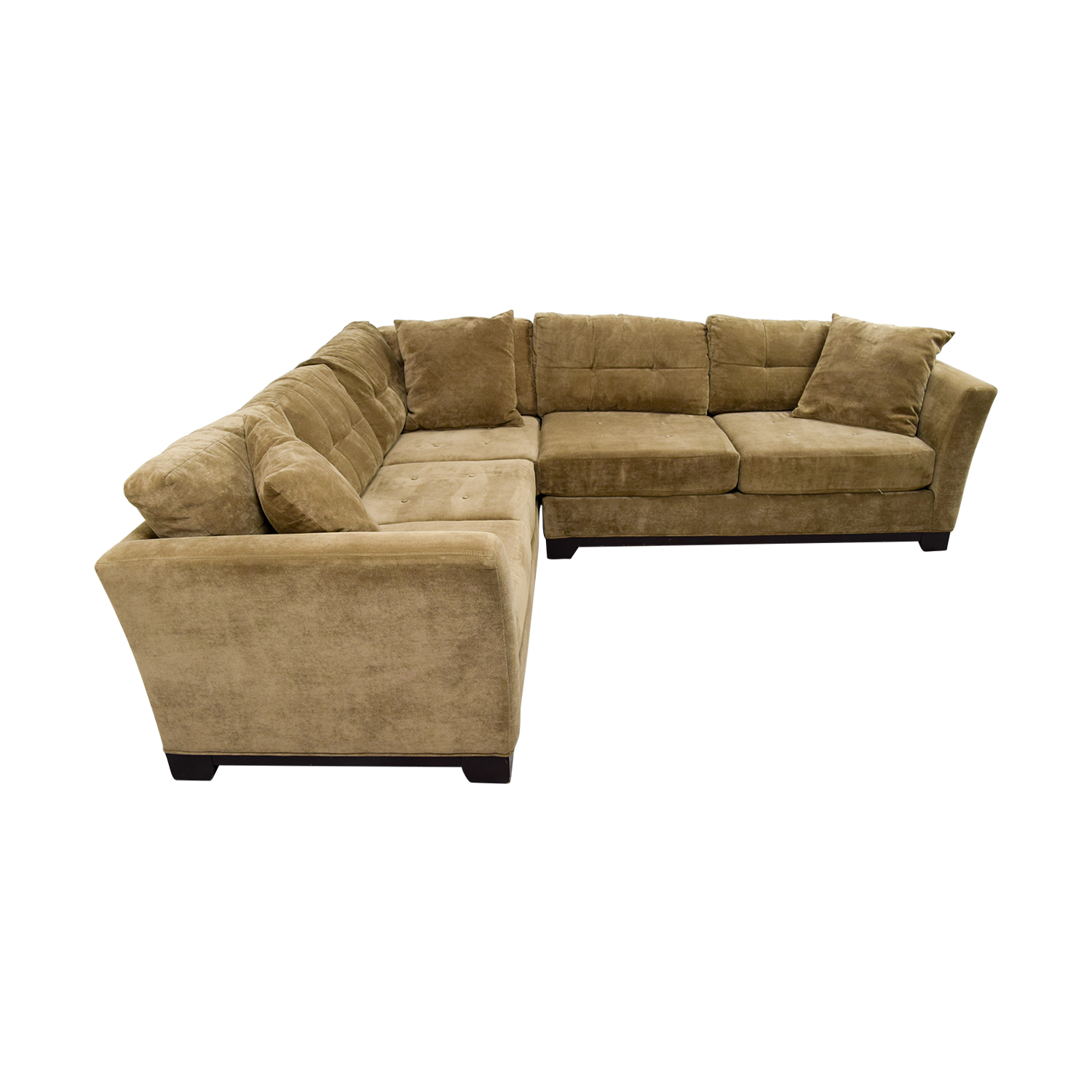 ... Macys Macys Elliot Fabric Microfiber Two Piece Sectional Sofa Price ...