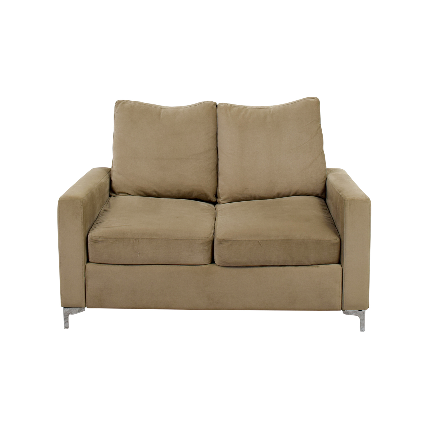 Cream Microfiber Sofa Beige Sofas Couches Fabric