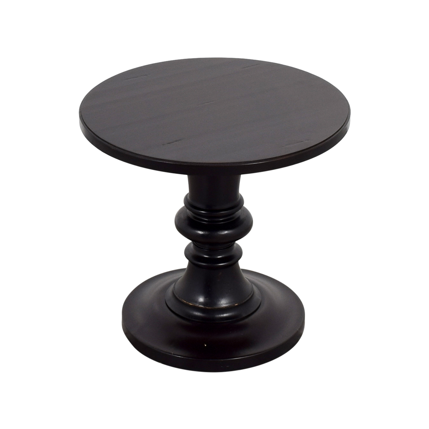shop Pottery Barn Pottery Barn Rustic Pedestal Accent Table online