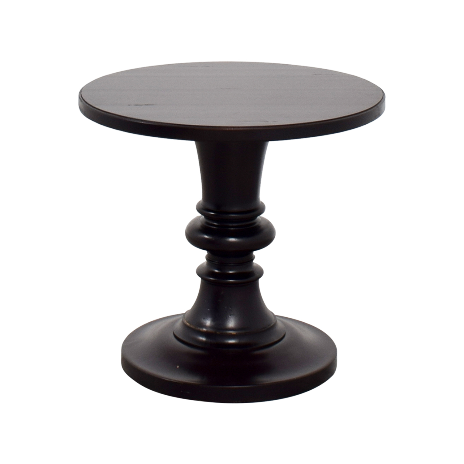 ... Buy Pottery Barn Pottery Barn Rustic Pedestal Accent Table Online ...