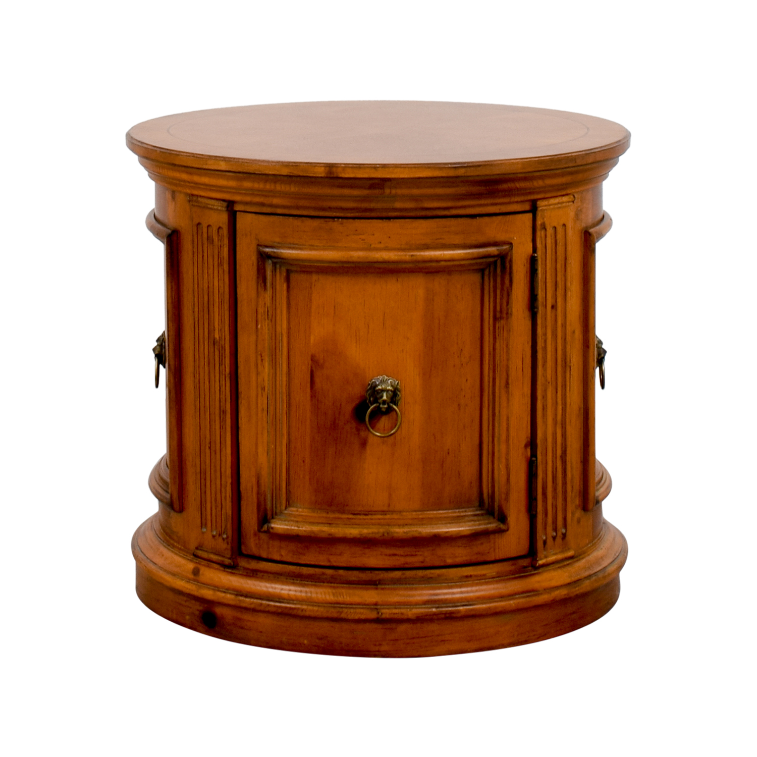 Shop Ethan Allen Barrel End Table Ethan Allen End Tables ...