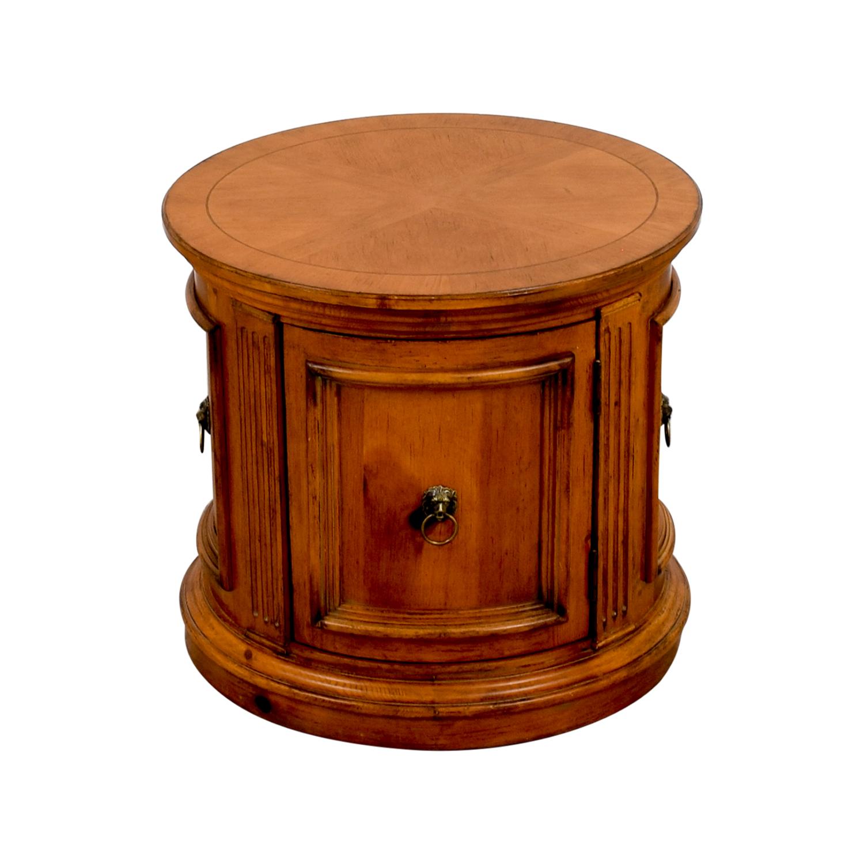 Ethan Allen Ethan Allen Barrel End Table price