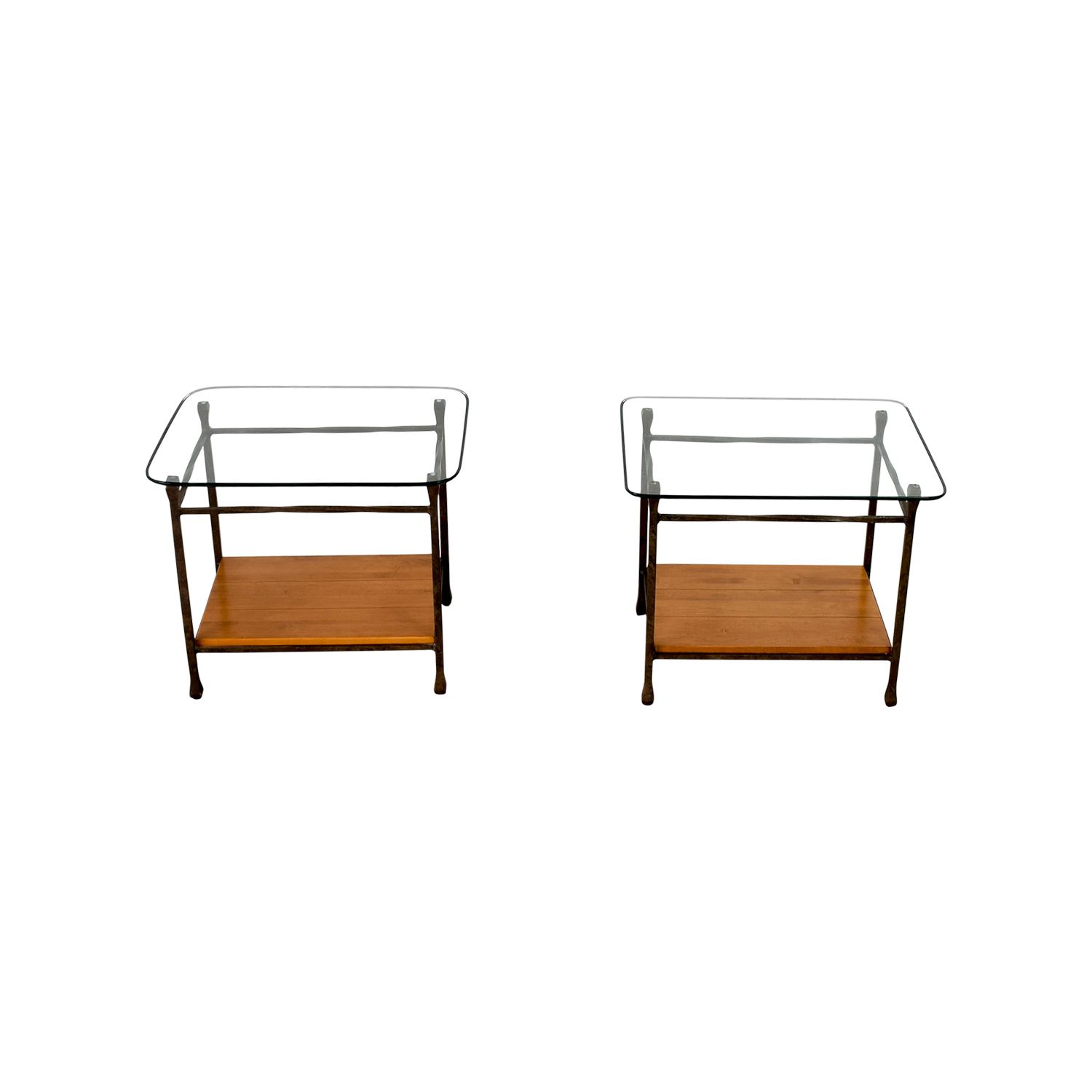 shop Ethan Allen Ethan Allen Wrought Iron End Tables online