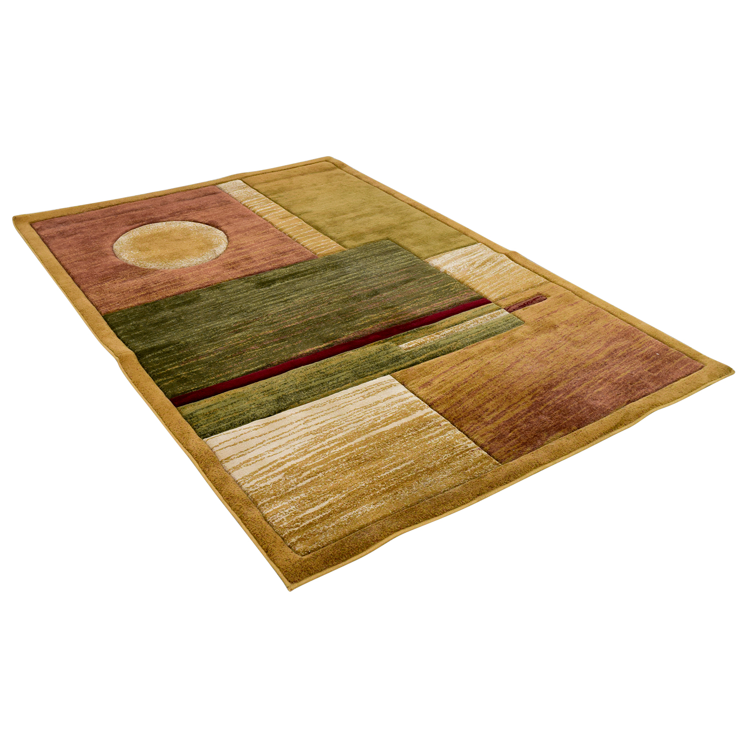 Evolution Evolution Green Multi-Colored Rug price