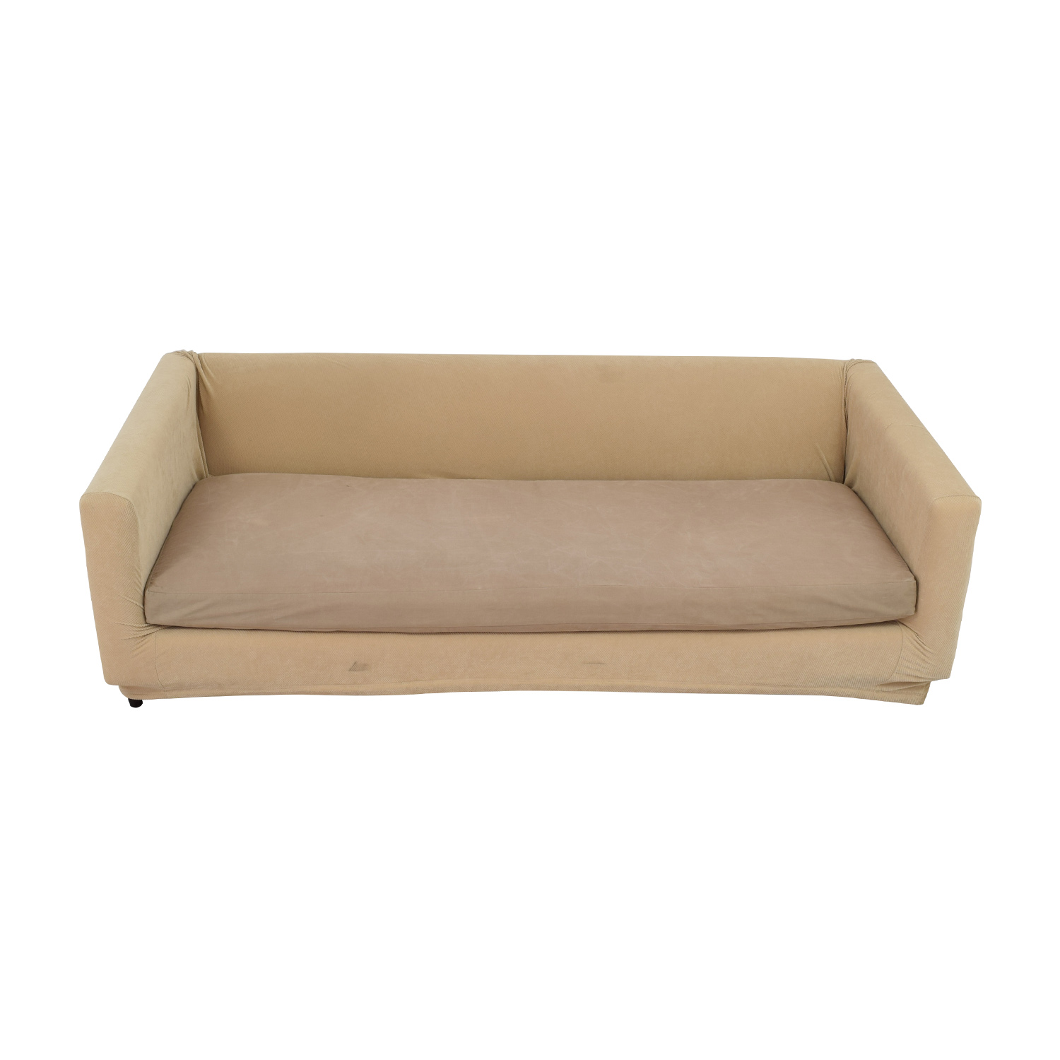 CB2 CB2 Tan Sofa Bed nyc