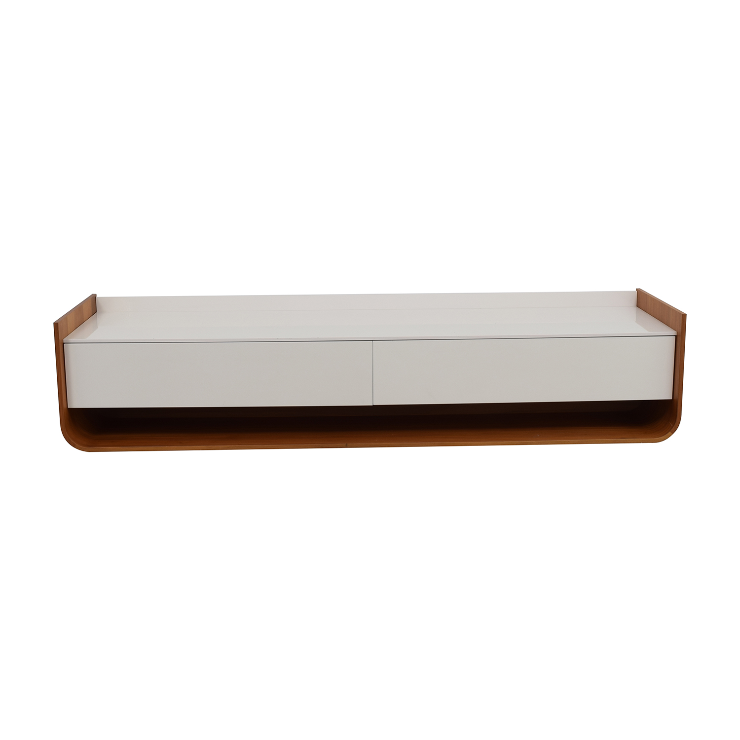 Ligne Roset White Entertainment Unit Ligne Roset