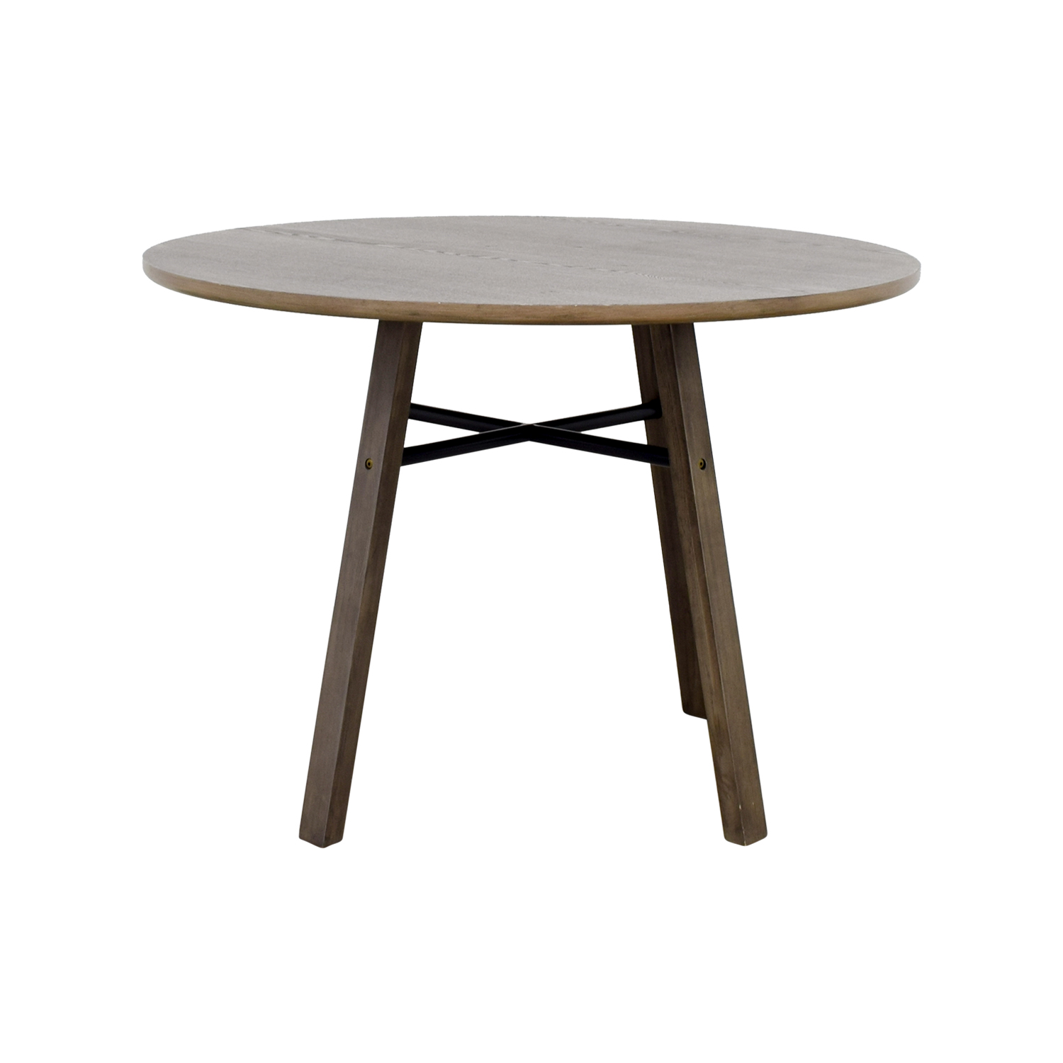 34% OFF Brown Marble Top Dinner Table Tables