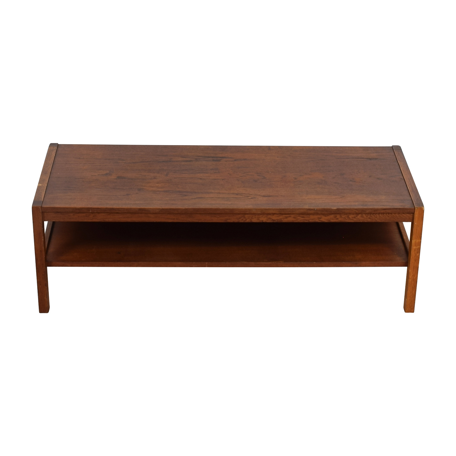 ... Workbench Workbench Mid Century Wood Coffee Table W/Expansion Leaf For  Sale ...