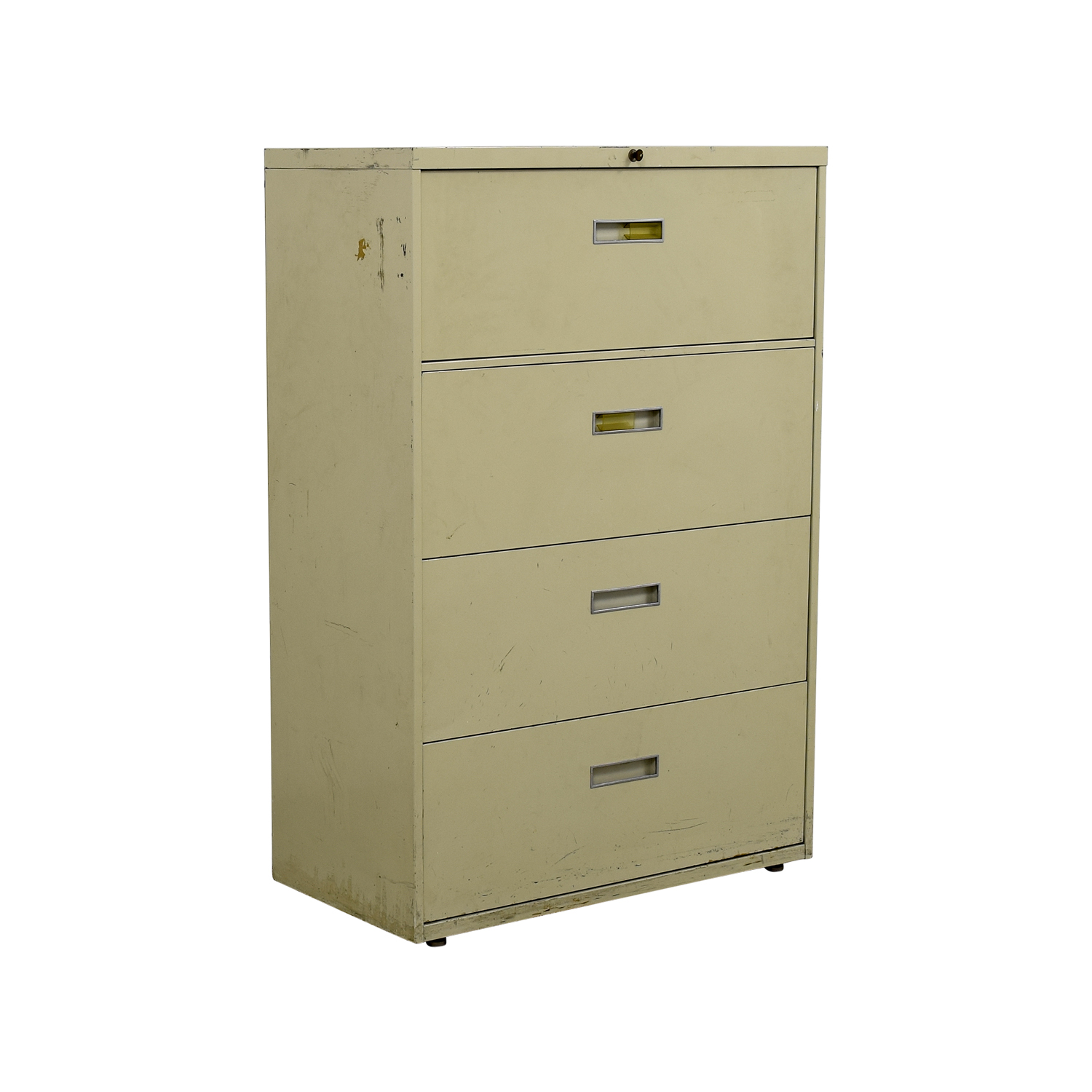 90 Off Four Drawer Tan Lateral File Cabinet Storage