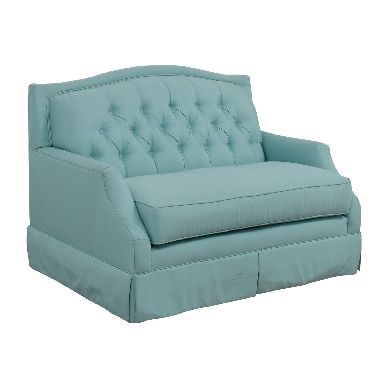 84 Off Society Social Society Social Turquoise Ava Loveseat Sofas