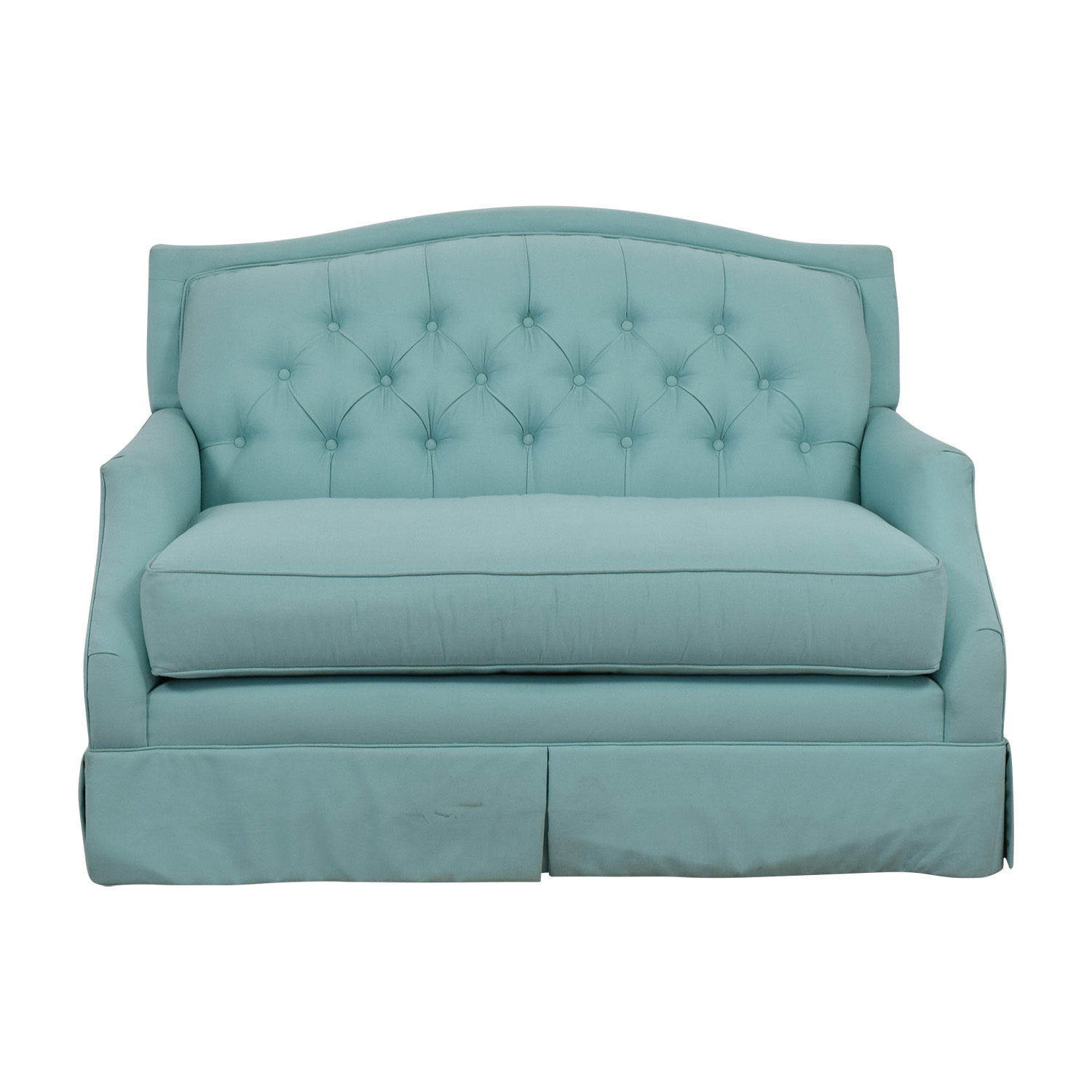 Society Social Society Social Turquoise Ava Loveseat for sale