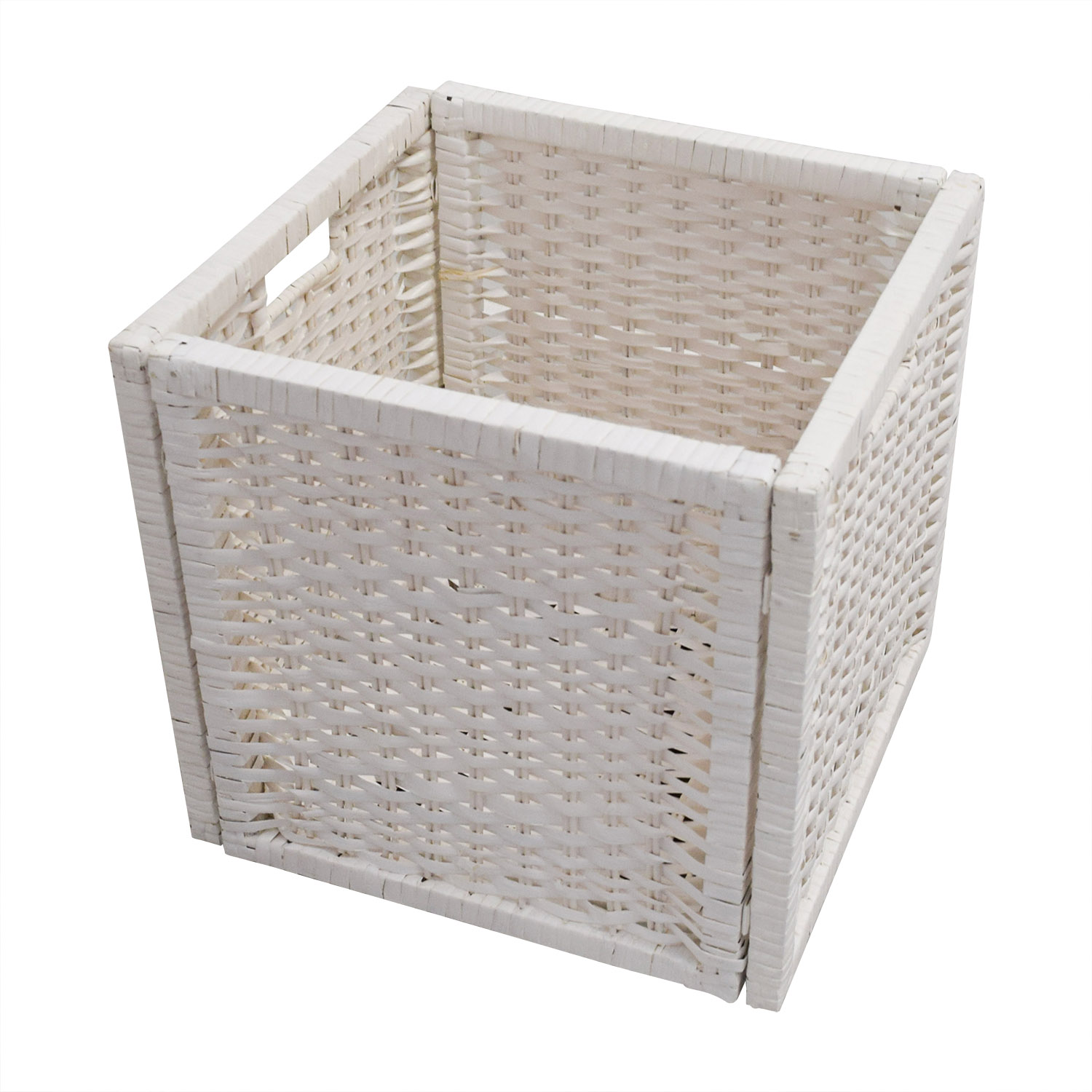 ... IKEA IKEA Shelving Unit With Baskets Storage ...