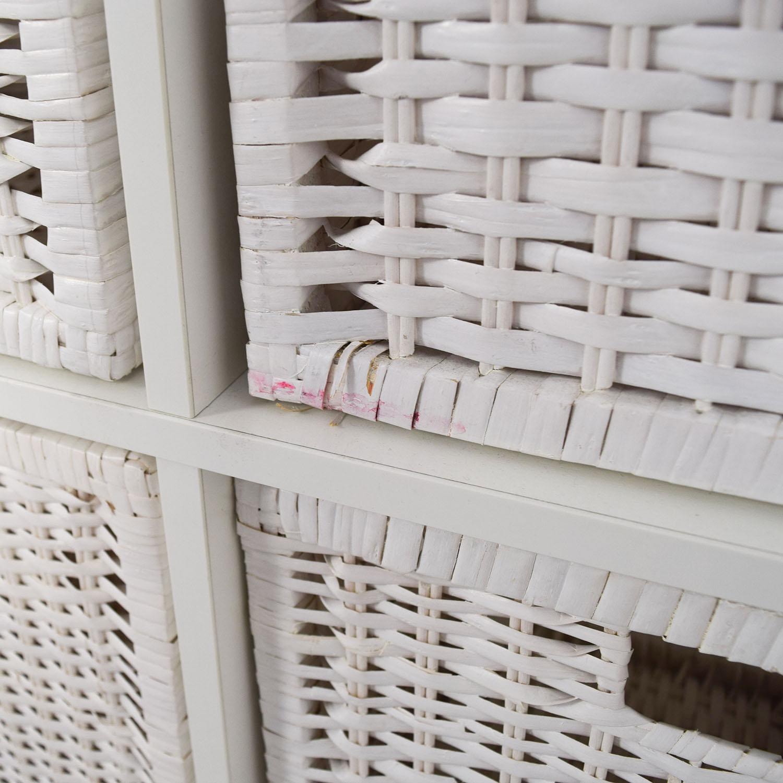 storage furniture with baskets ikea. Buy IKEA Shelving Unit With Baskets Storage Furniture Ikea