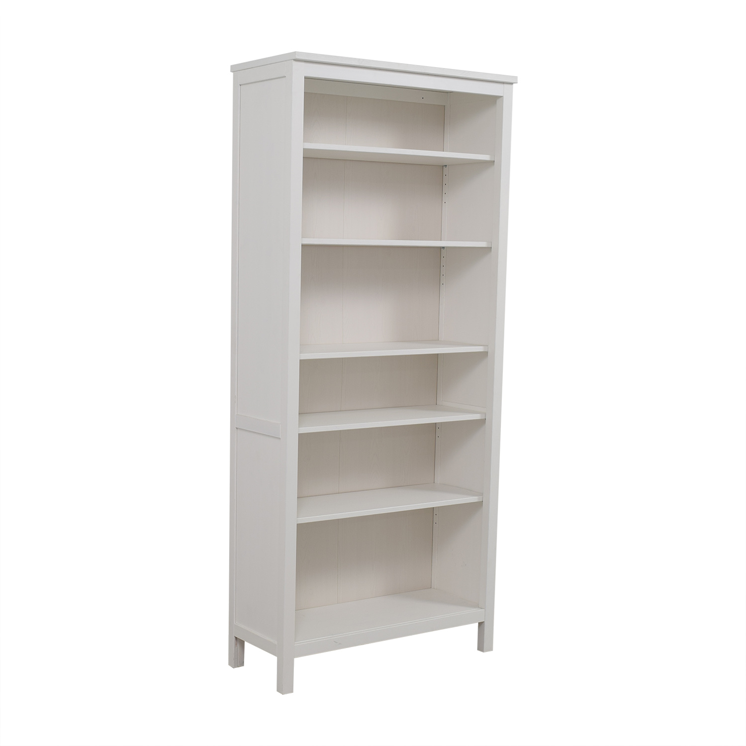 34 off ikea ikea white hemnes bookshelf storage. Black Bedroom Furniture Sets. Home Design Ideas