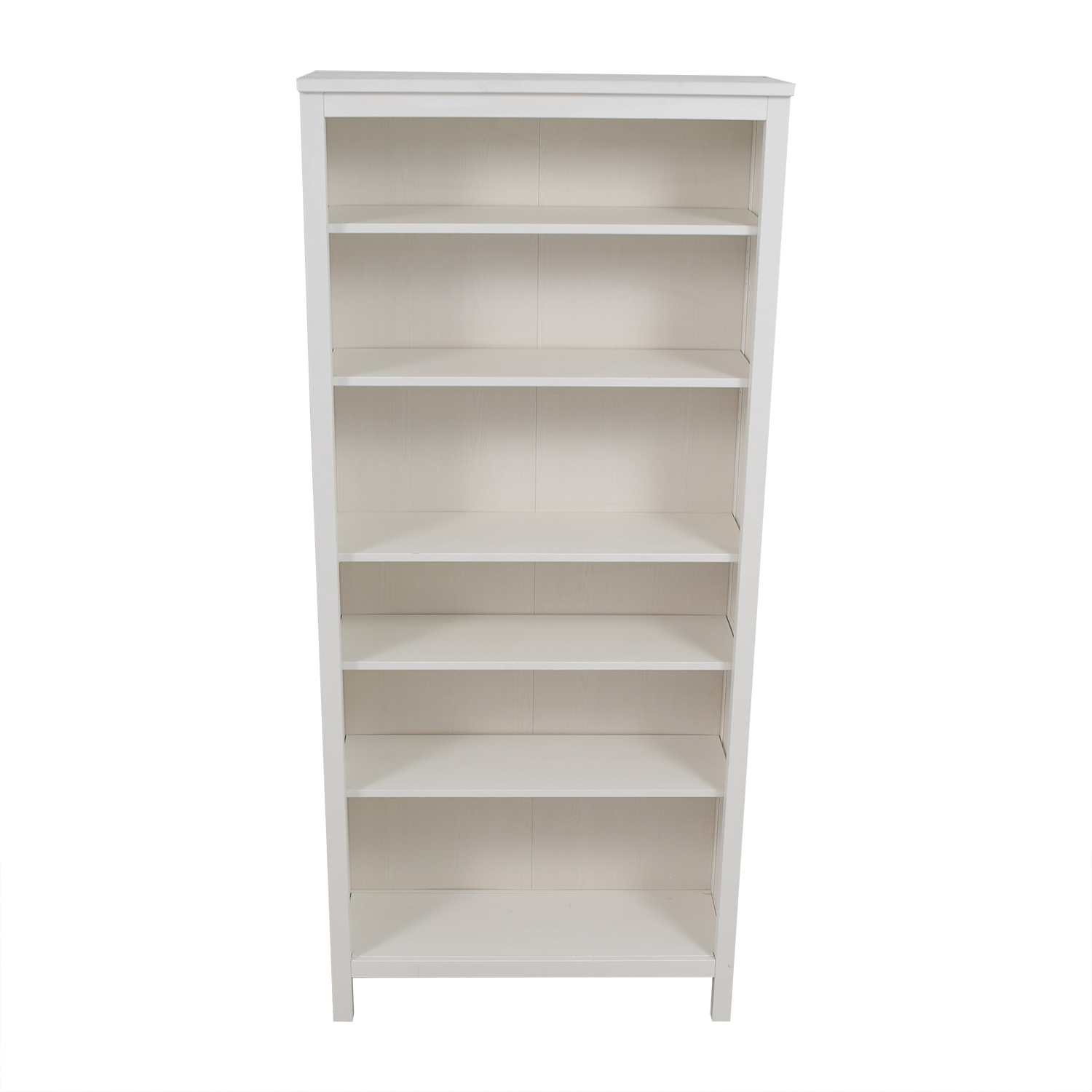 shop IKEA White Hemnes Bookshelf IKEA