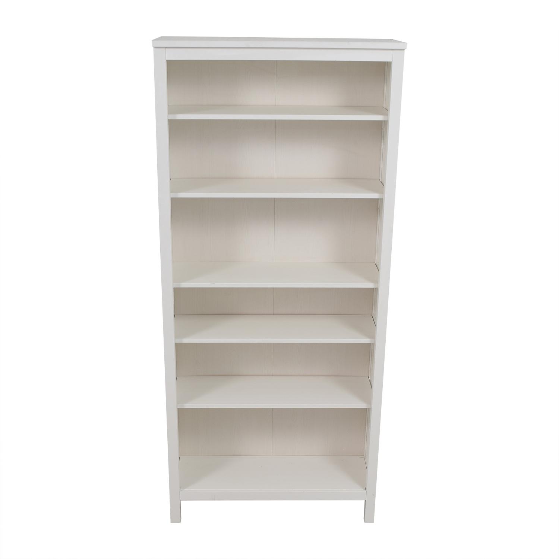 53 Off Ikea Ikea White Hemnes Bookshelf Storage