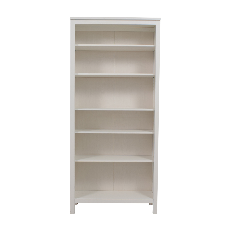53 Off Ikea White Hemnes Bookshelf Storage