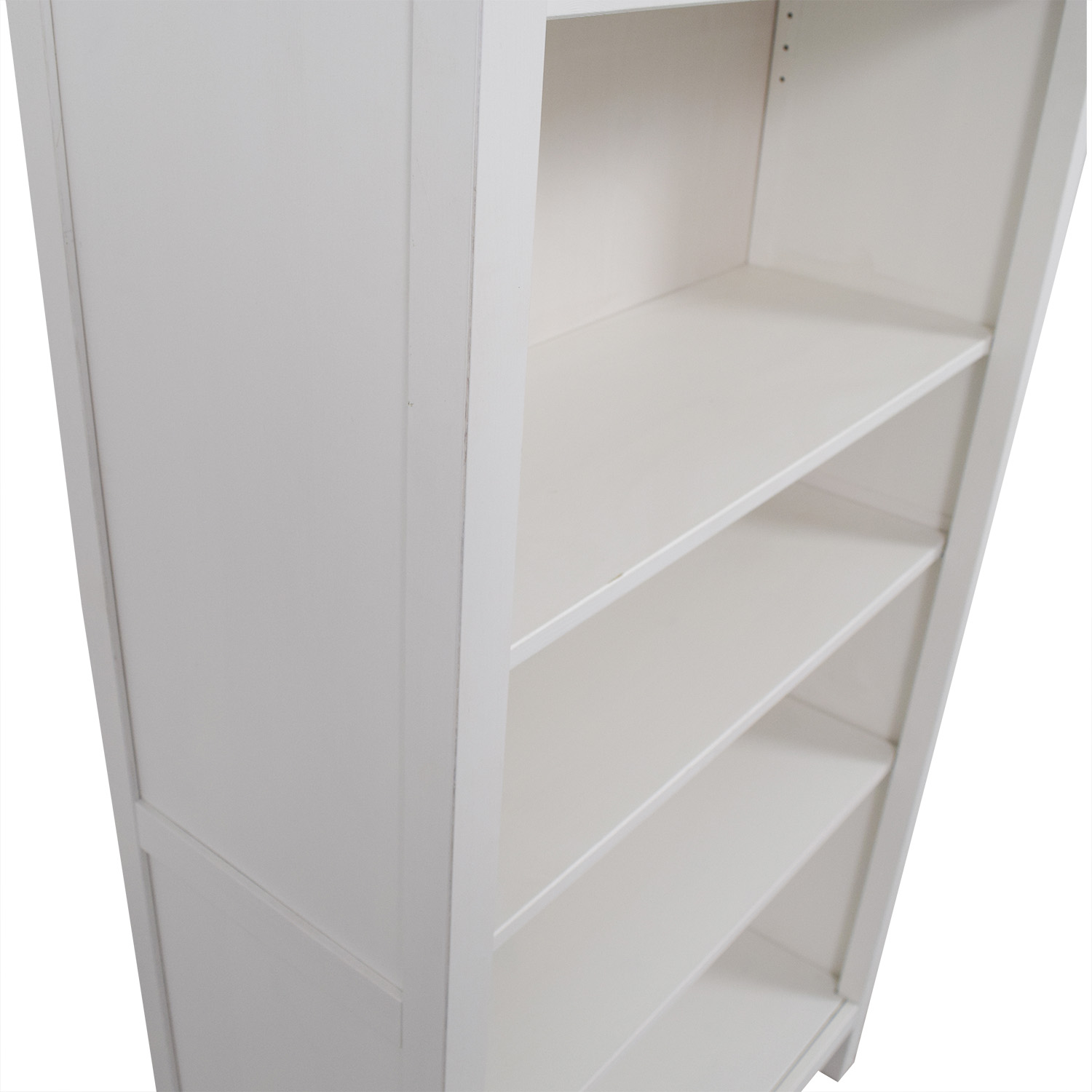 53 off ikea ikea white hemnes bookshelf storage. Black Bedroom Furniture Sets. Home Design Ideas