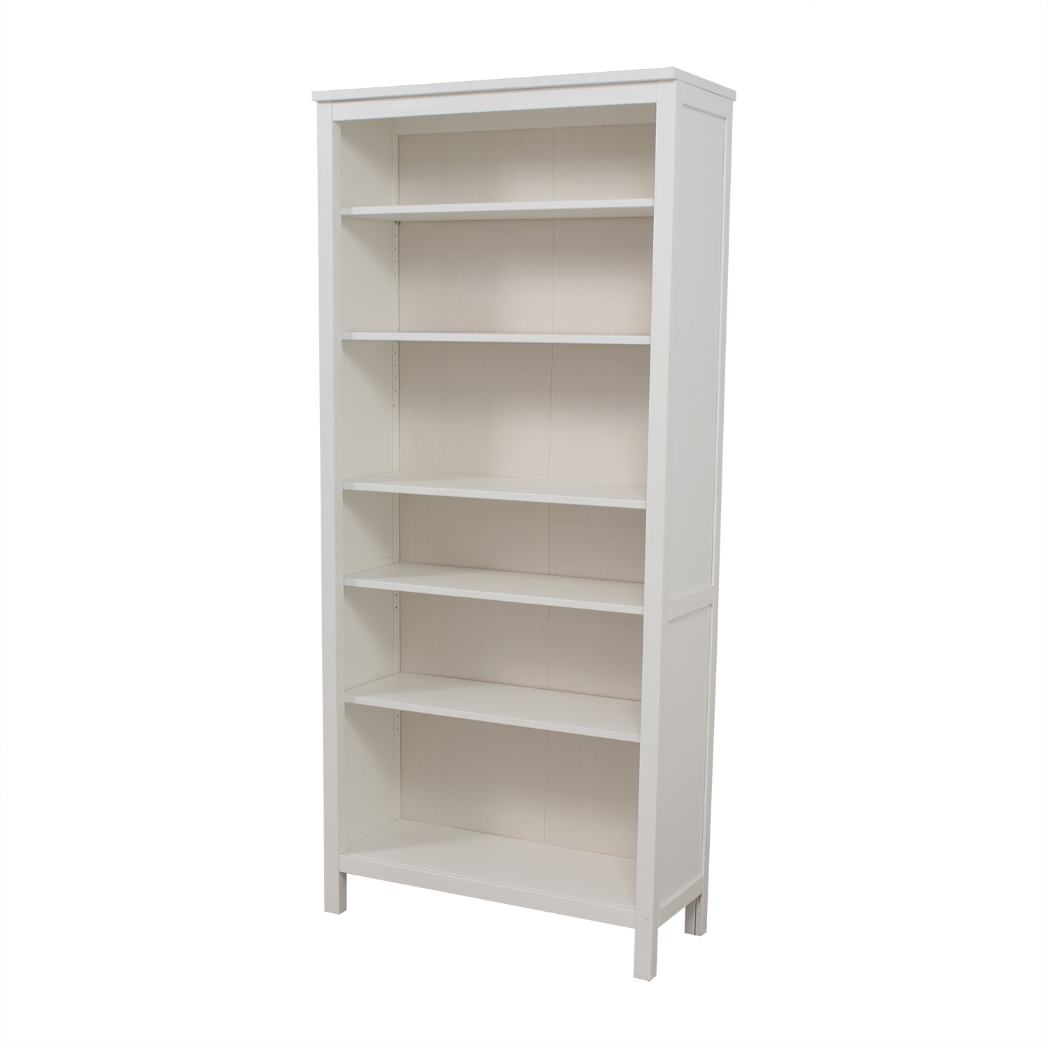53 off ikea ikea white hemnes bookshelf storage for Ikea comodino hemnes