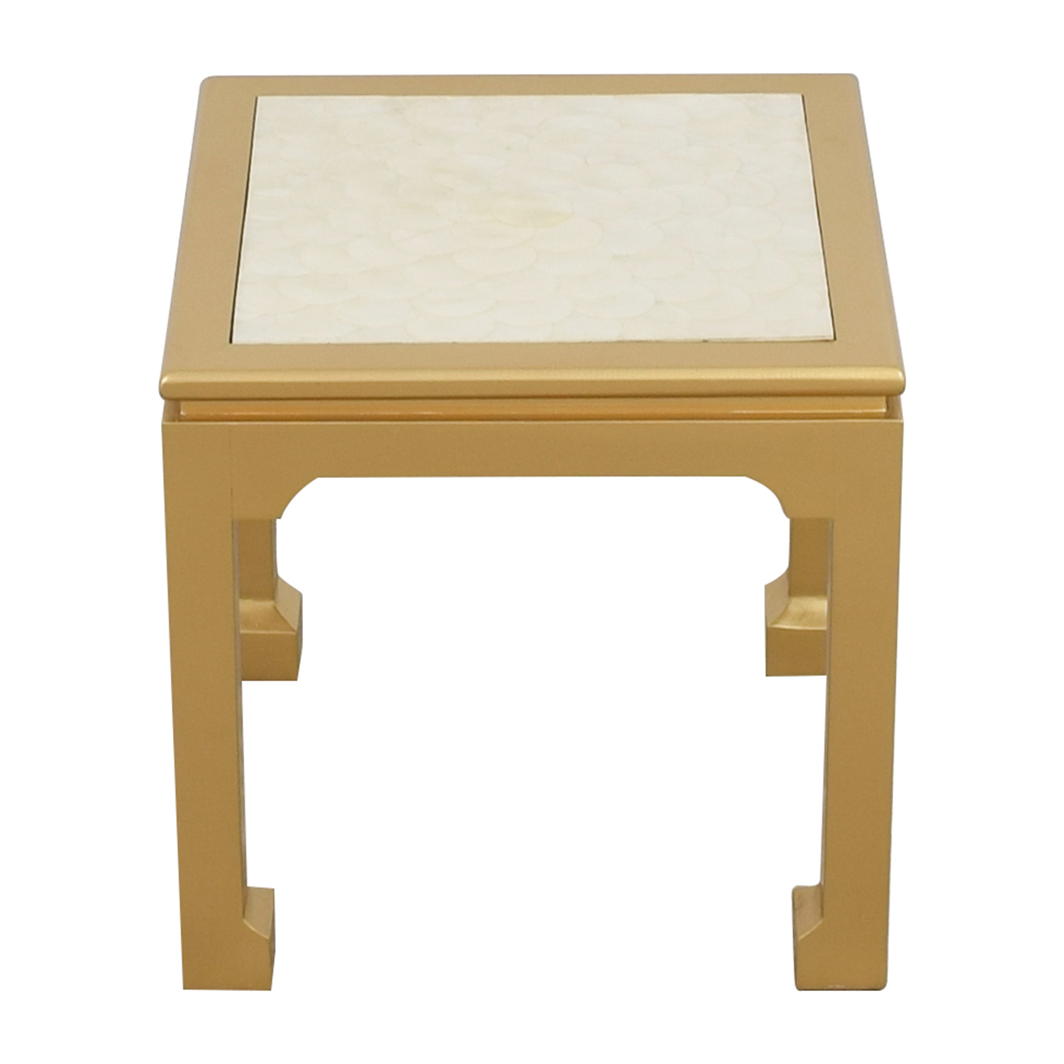 Society Social Society Social Capiz Gold Inlay Ming Table for sale
