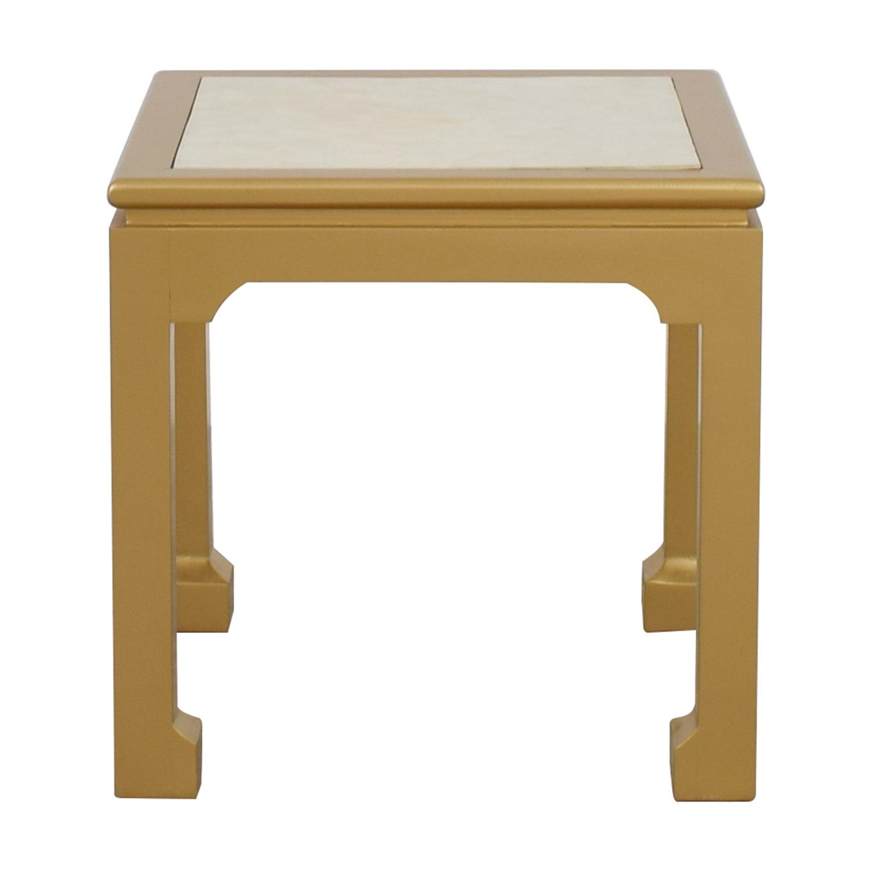 shop Society Social Society Social Capiz Gold Inlay Ming Table online