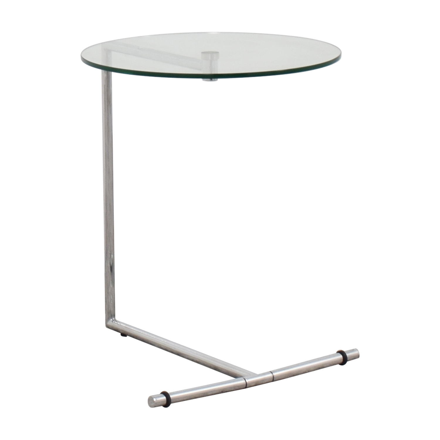 87 Off Z Gallerie Z Gallerie Glass And Metal Side Table