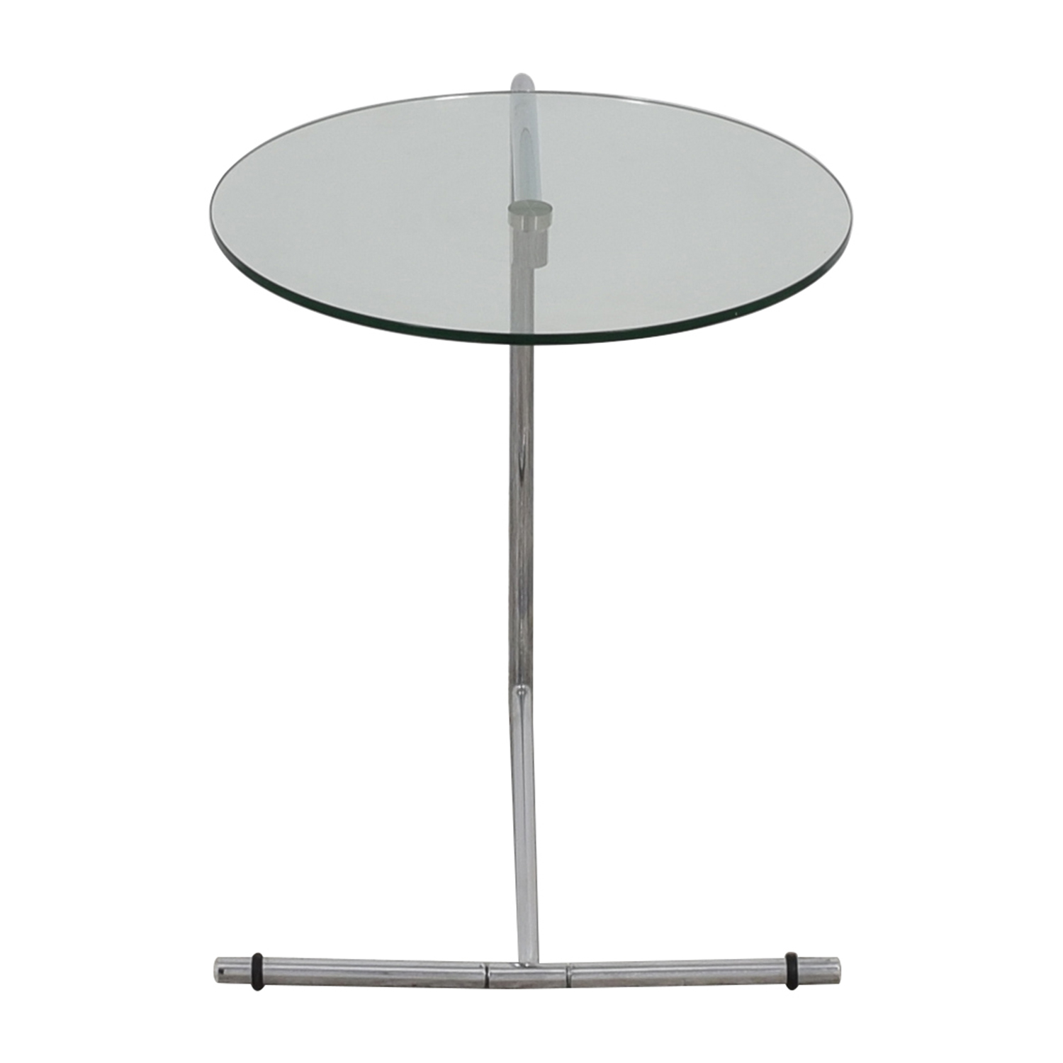 Z Gallerie Z Gallerie Glass and Metal Side Table price