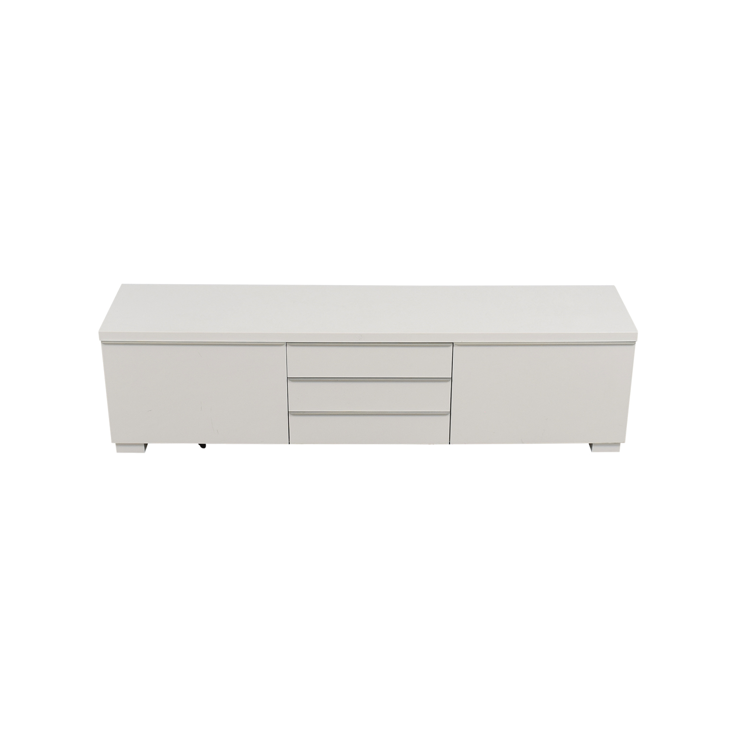 IKEA IKEA White TV Stand With Five-Drawers Media Units