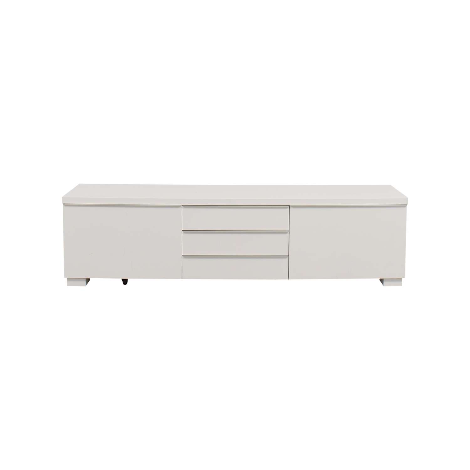 37 off ikea ikea white tv stand with five drawers storage - Ikea table tv ...