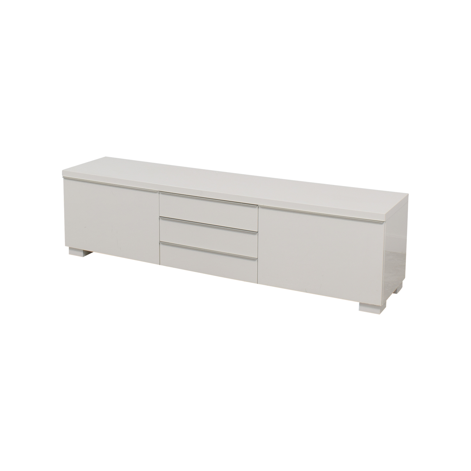 37 Off Ikea Ikea White Tv Stand With Five Drawers Storage