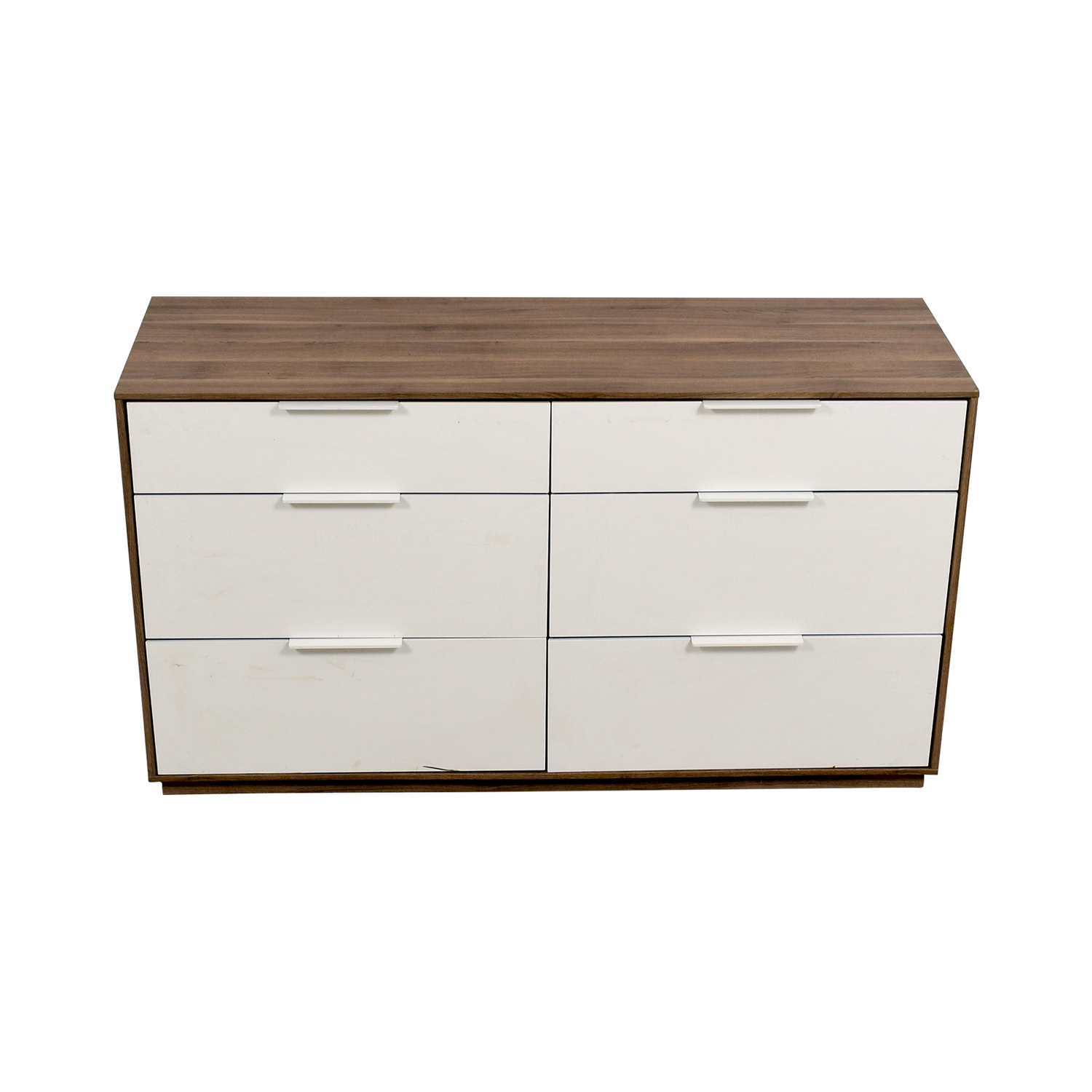 IKEA White Six-Drawer Dresser sale
