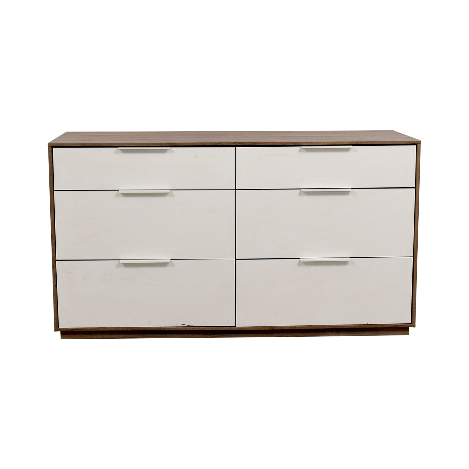 IKEA IKEA White Six-Drawer Dresser second hand