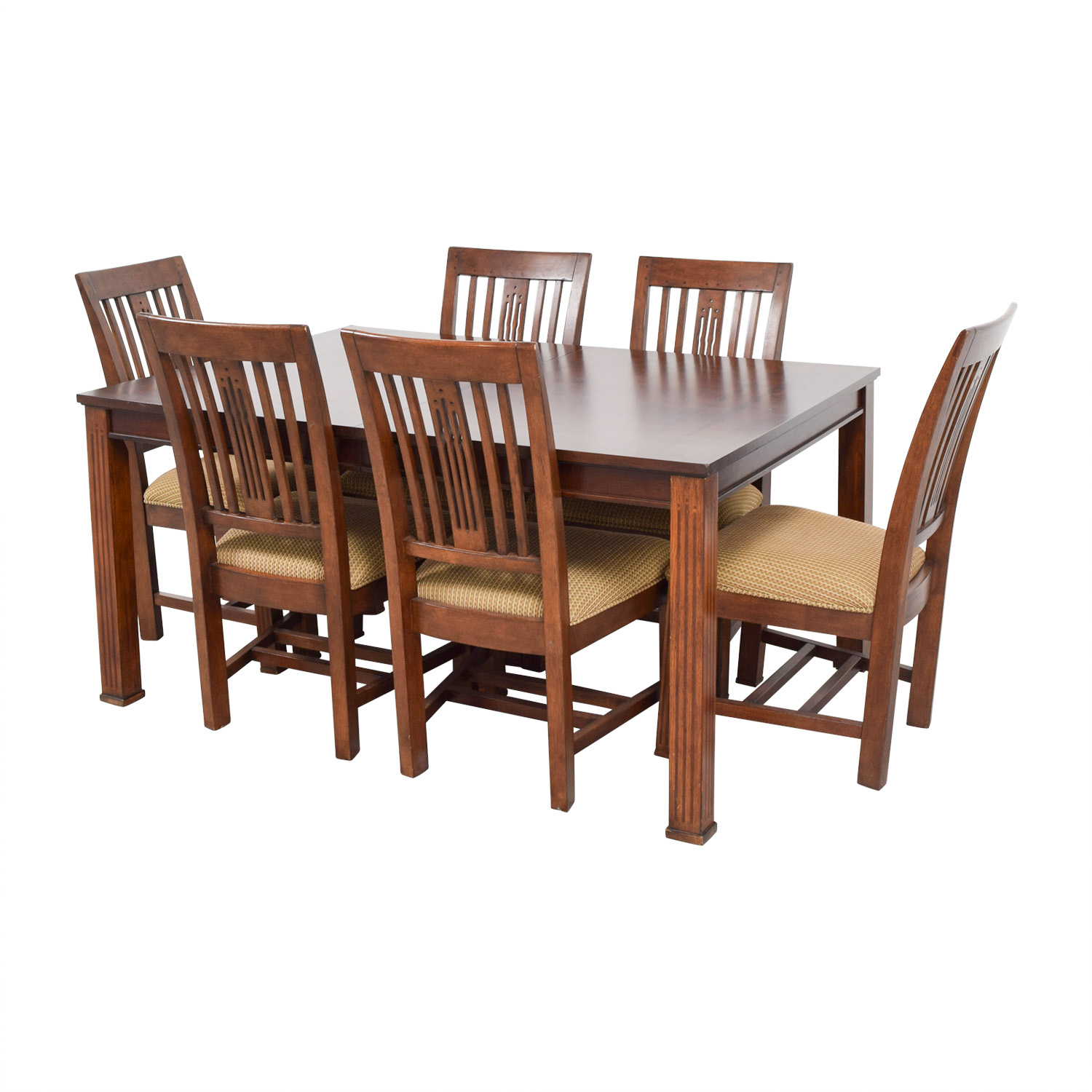 81% OFF   Macyu0027s Macyu0027s Craft Mission Shaker Table And Chairs / Tables