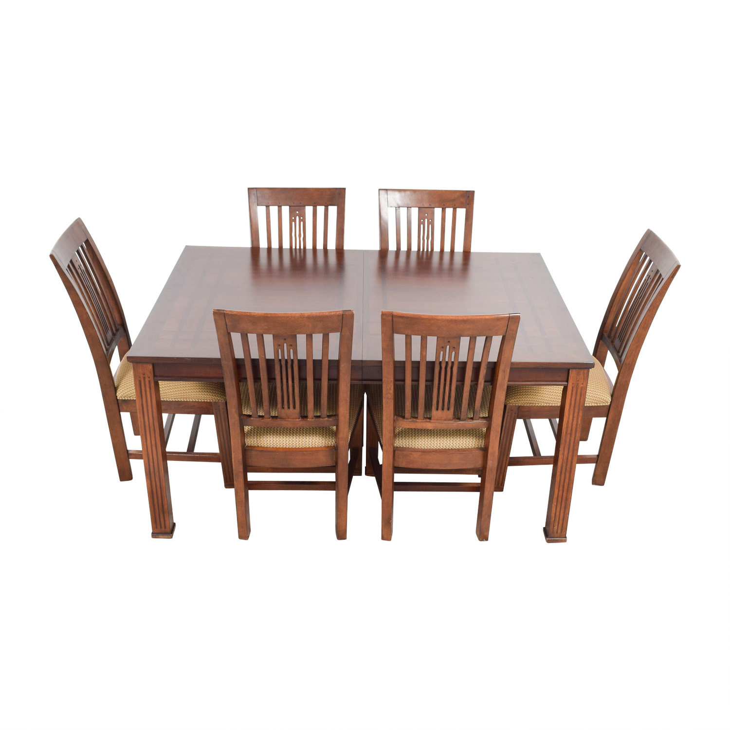 buy Macys Craft Mission Shaker Table and Chairs Macys Dining Sets